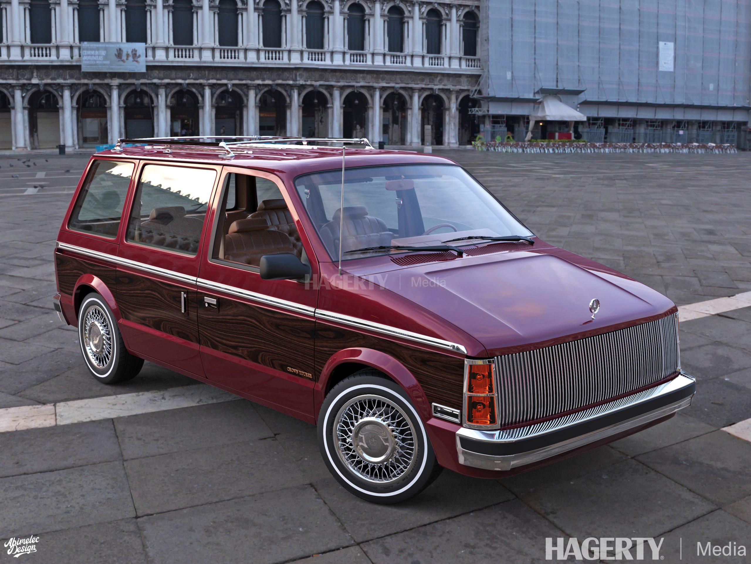 Chrysler Imperial Crown Tourer burgundy