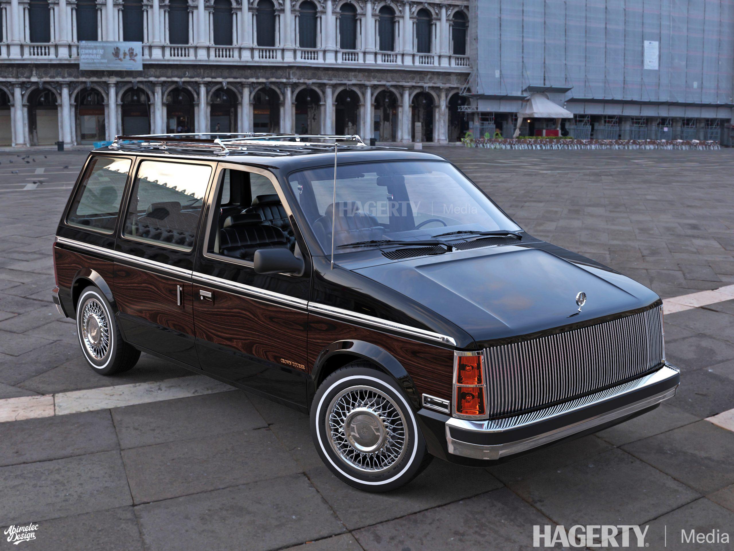 Chrysler Imperial Crown Tourer navy