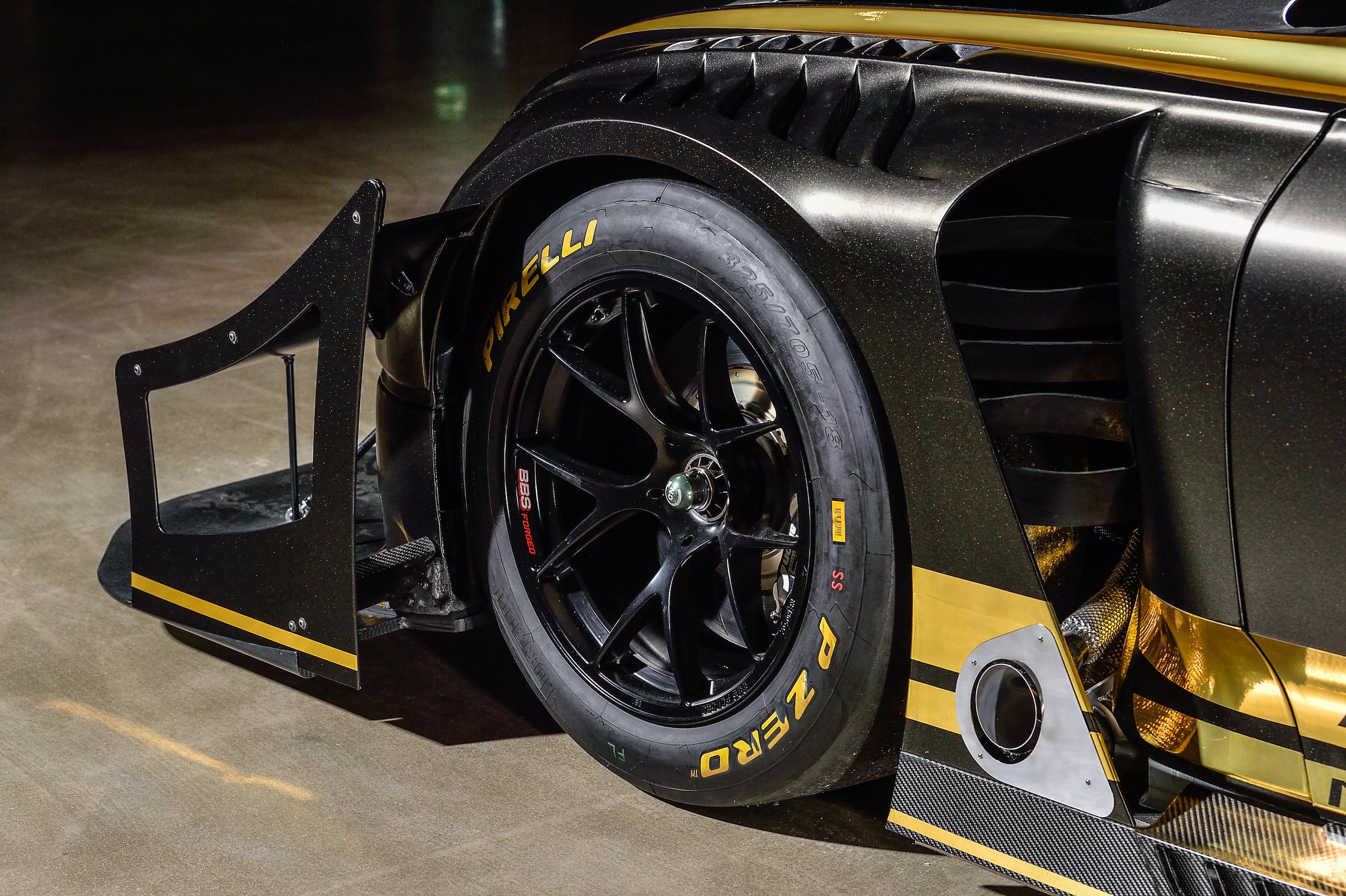 Bentley Continental GT3 Pikes Peak wheel