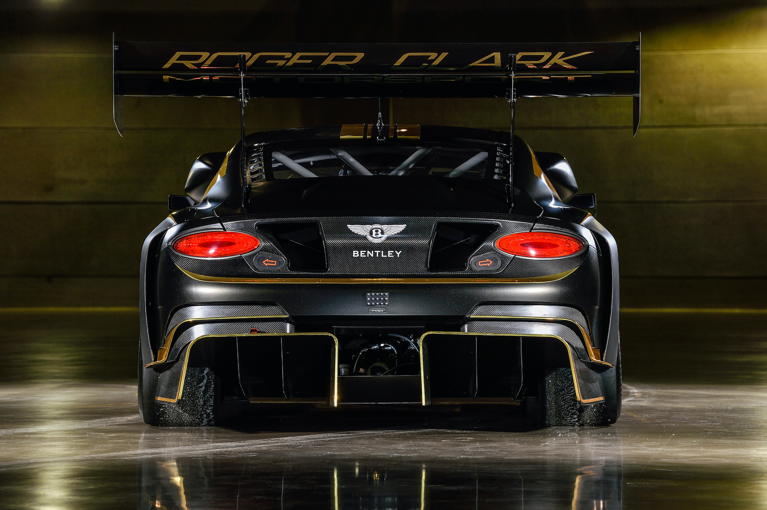 Bentley Continental GT3 Pikes Peak rear