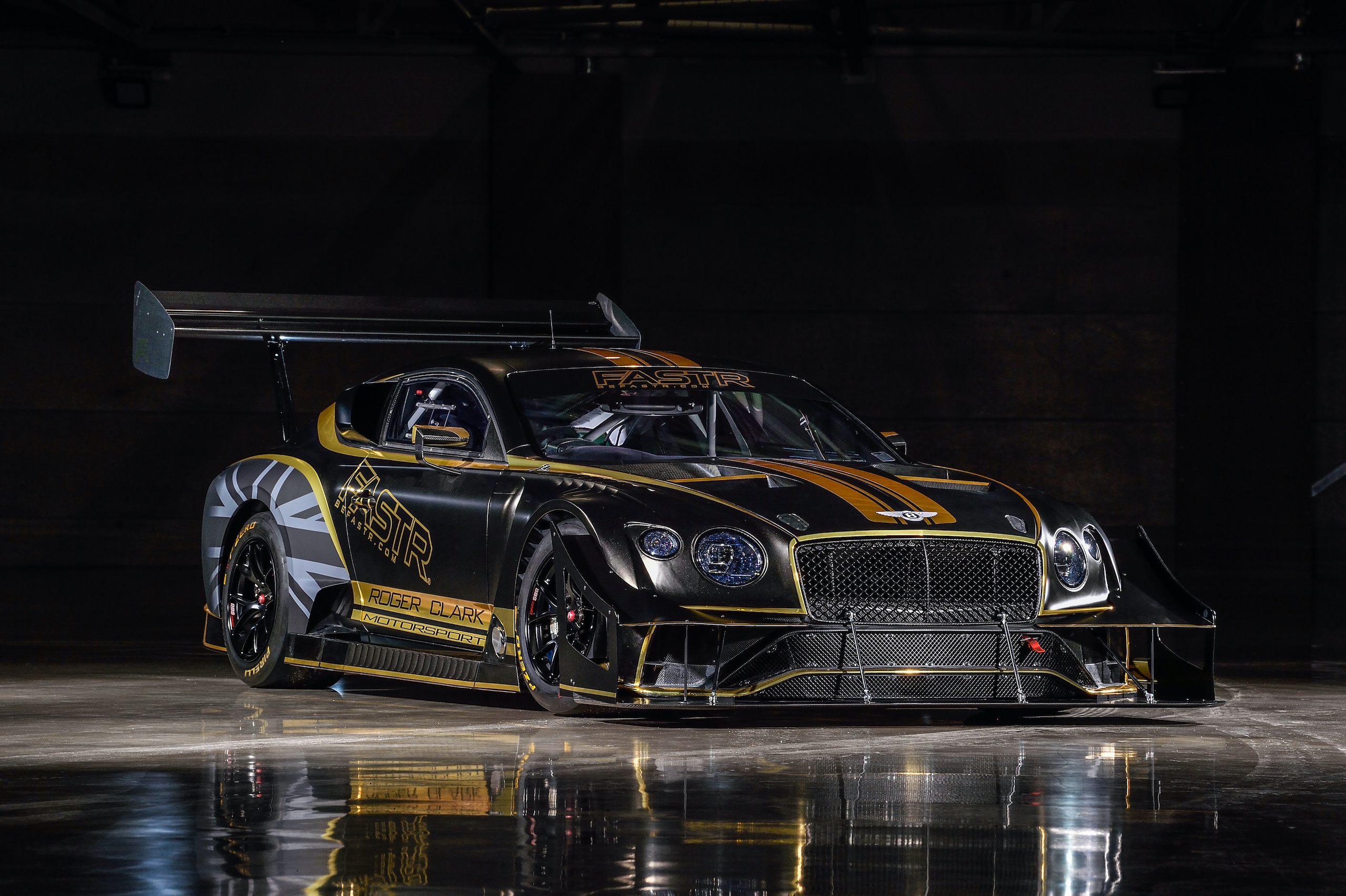 Bentley Continental GT3 Pikes Peak front three-quarter