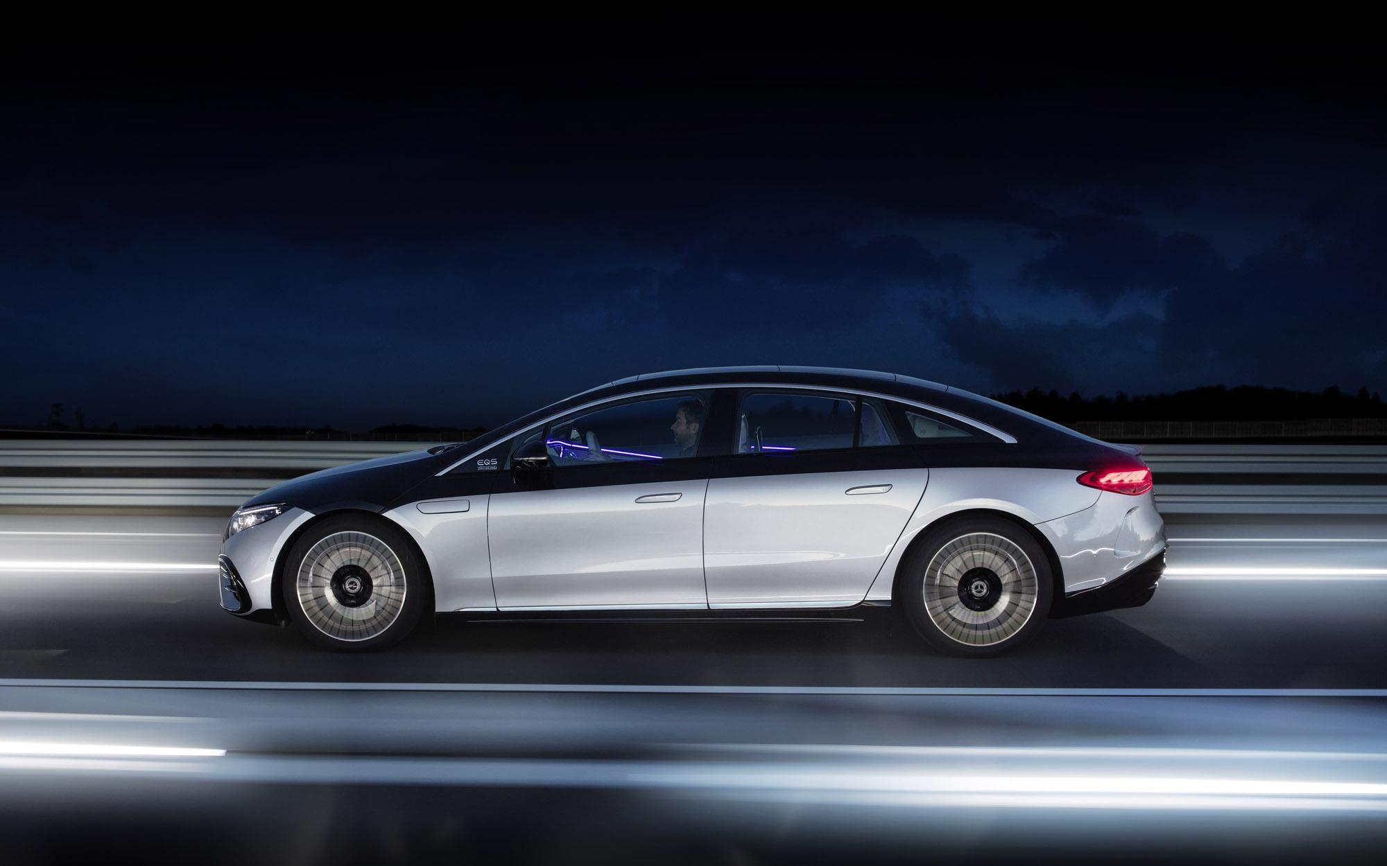 Mercedes-EQ, EQ profile tracking