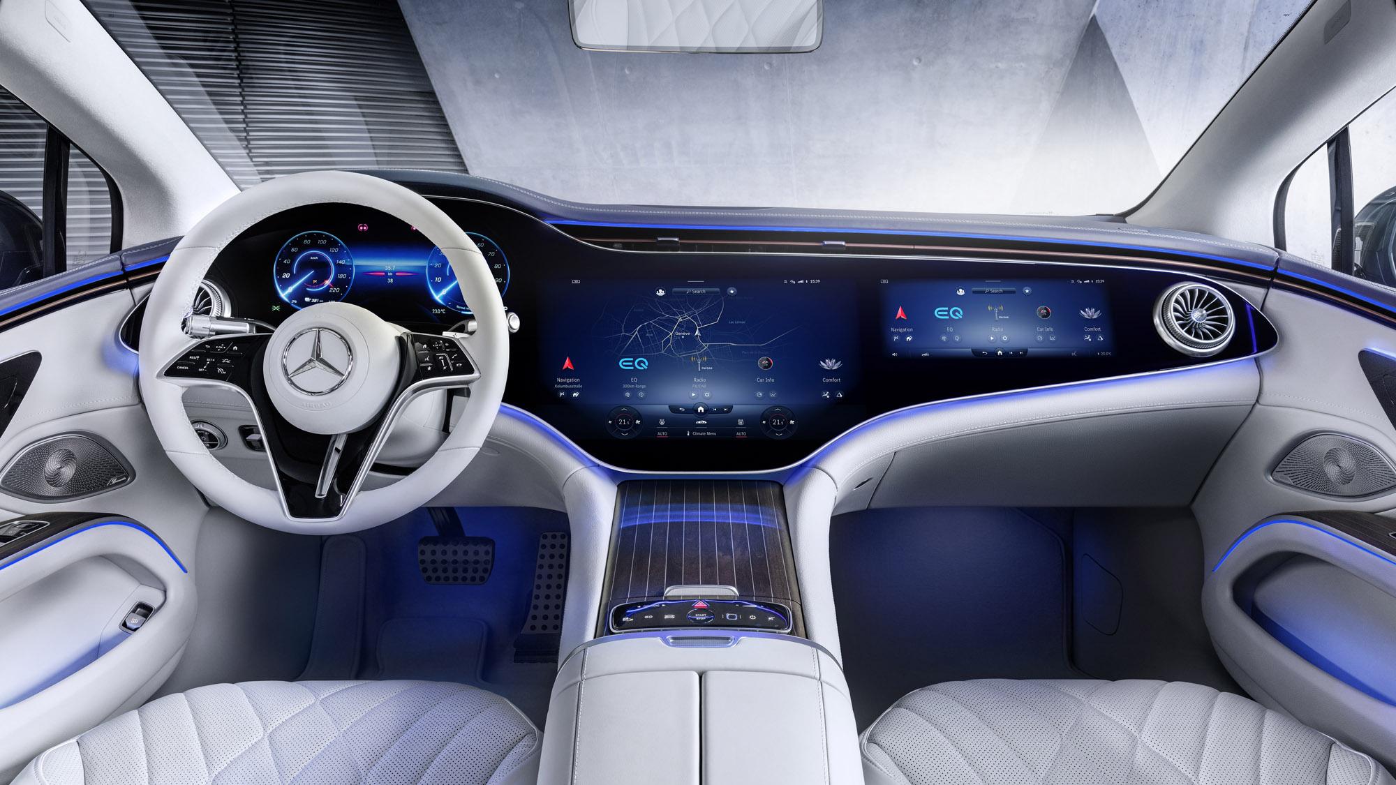 Mercedes-EQ, EQ interior 2