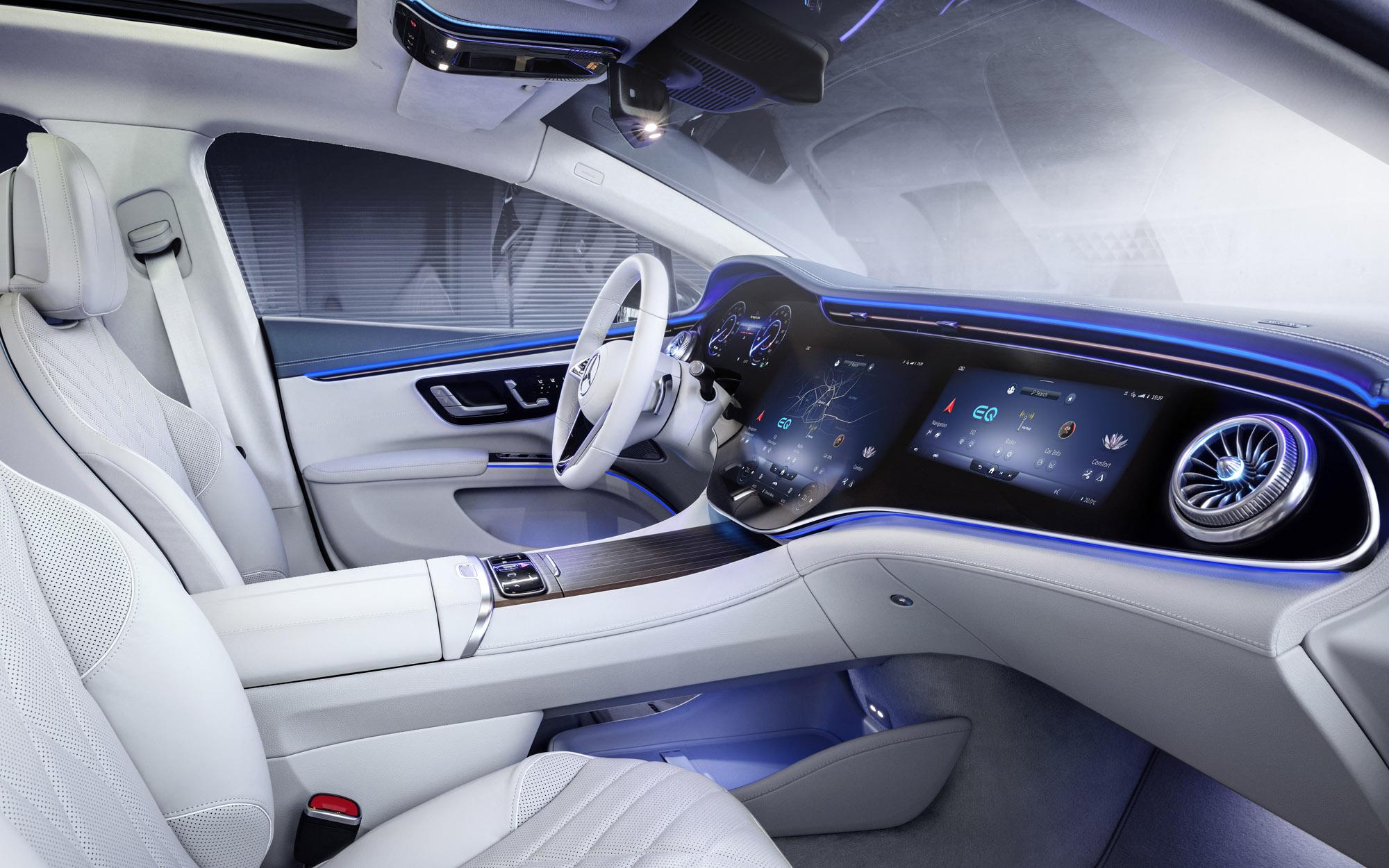 Mercedes-EQ, EQ interior