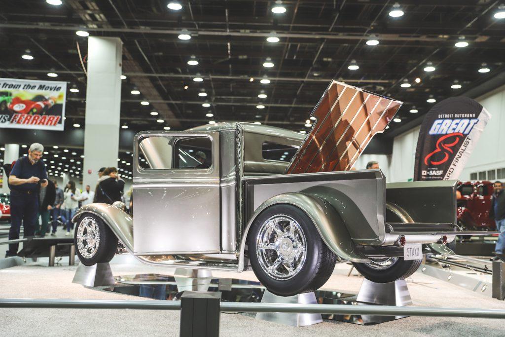 Detroit Autorama Event 2020 hot rod pickup