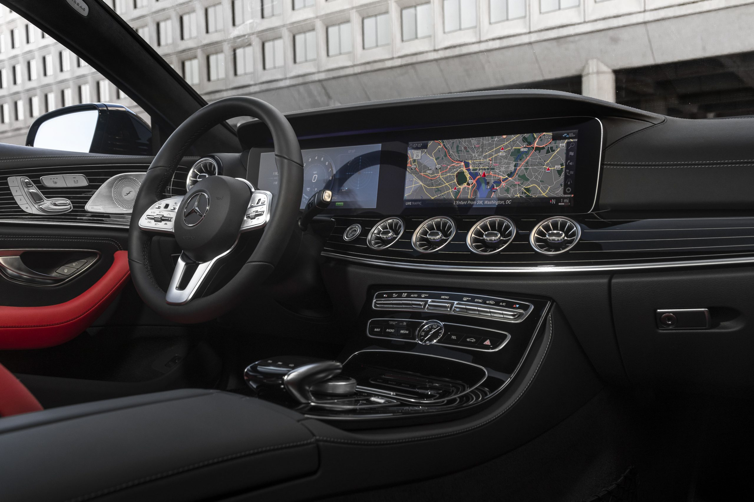 2022 Mercedes-Benz CLS 450 interior dash
