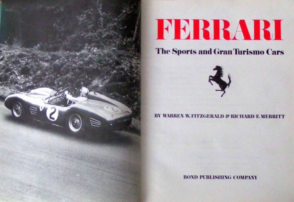Ferrari Sports and Grand Turismo Cars book