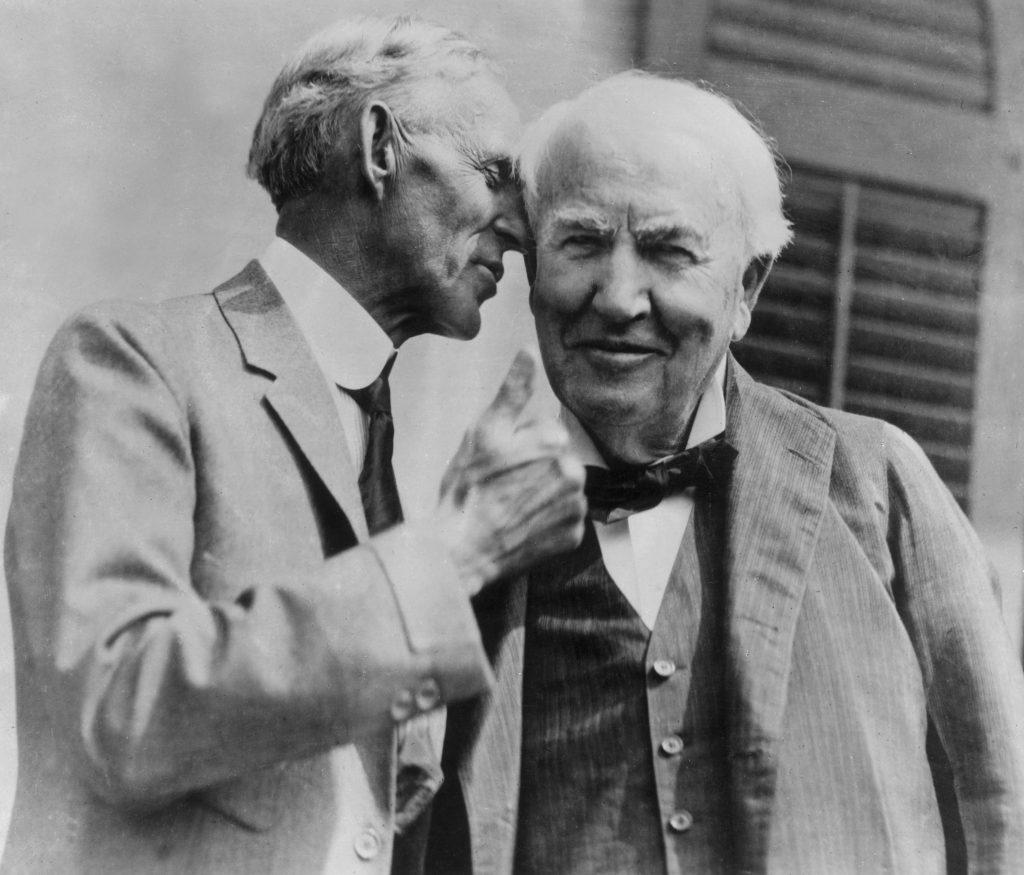 Thomas Edison Henry Ford whisper