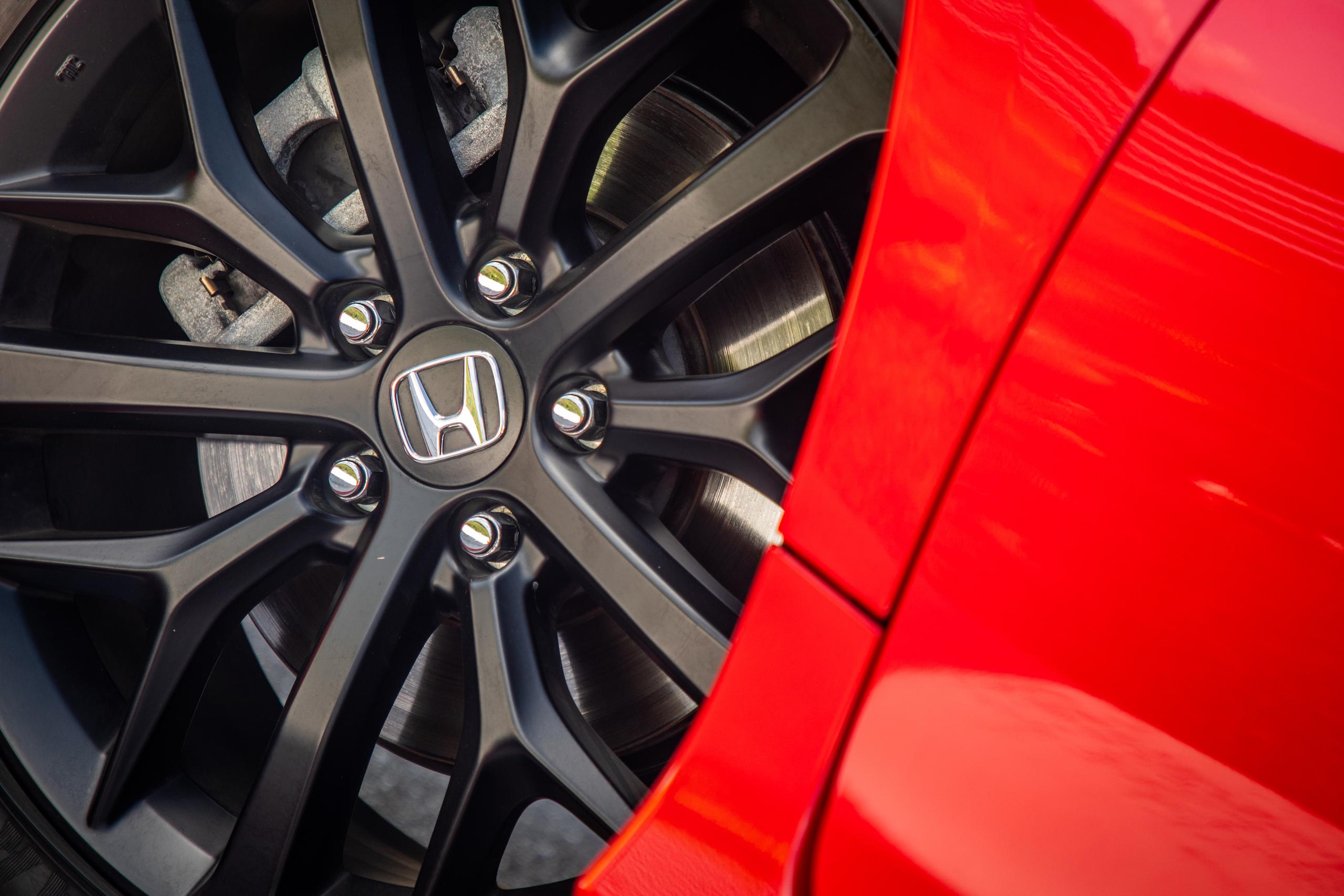 2020 Civic Si wheel detail