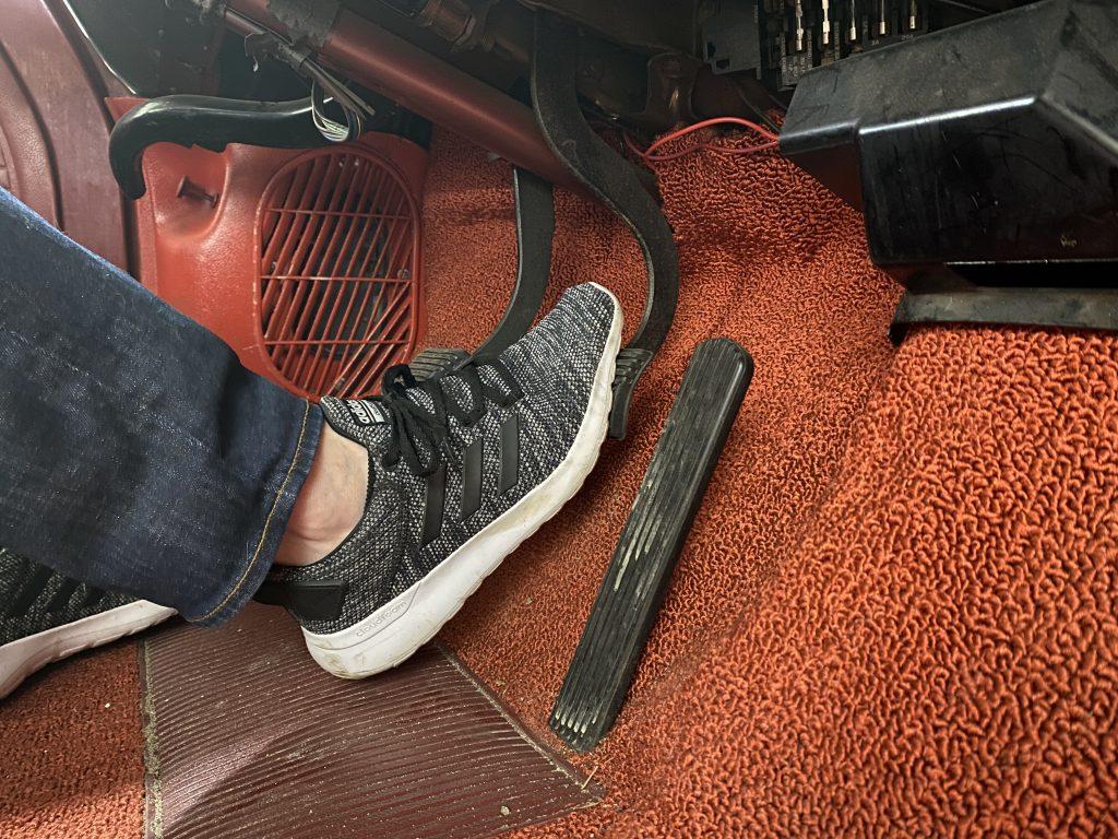 corvair brake pedal