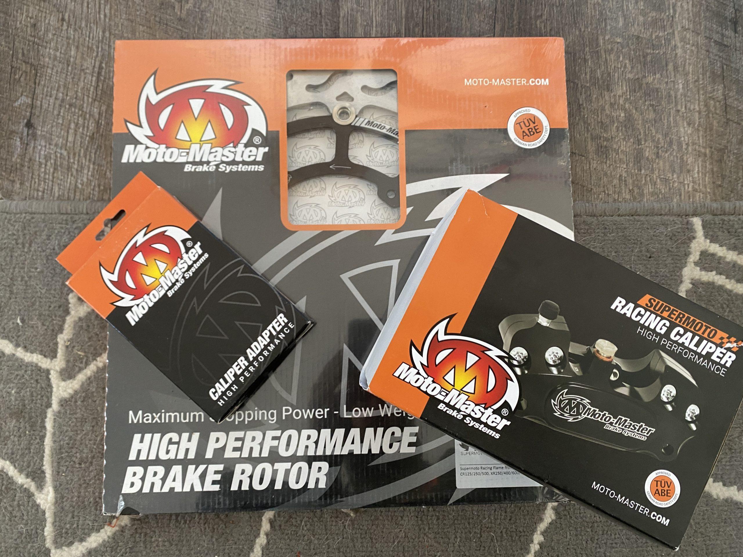 Moto Master front brake setup