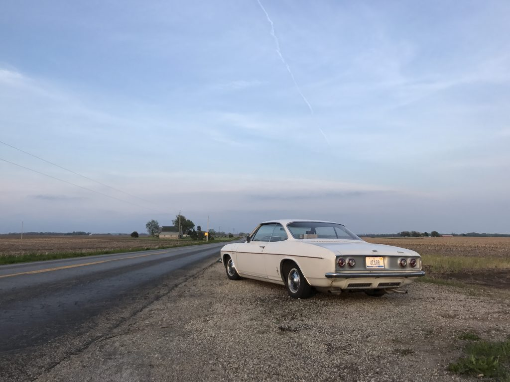 1965 Corvair in Iowa