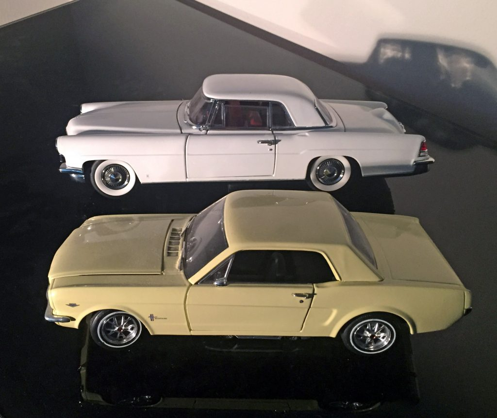 Ford Mustang vs Continental Mark II