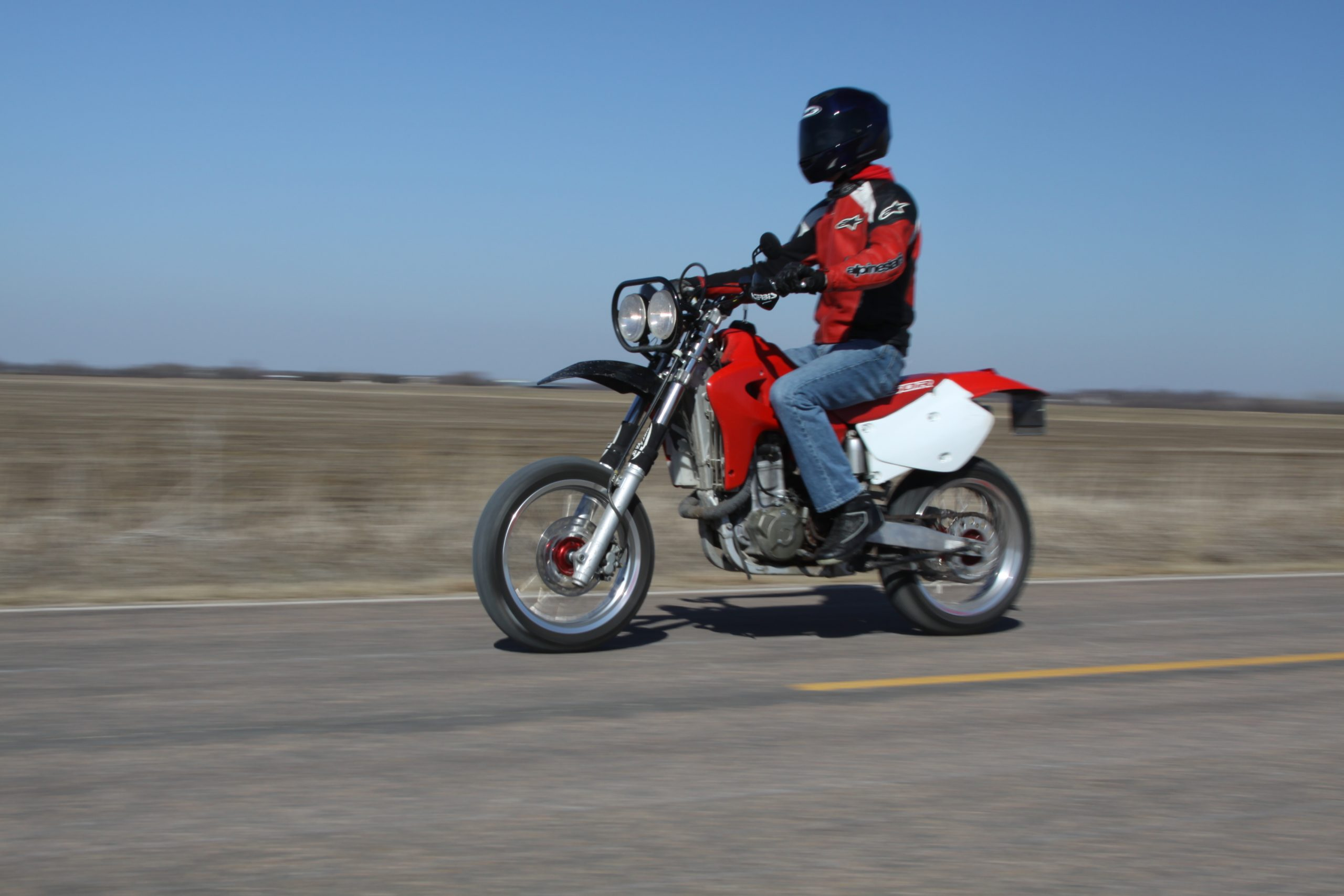 XR650R supermoto