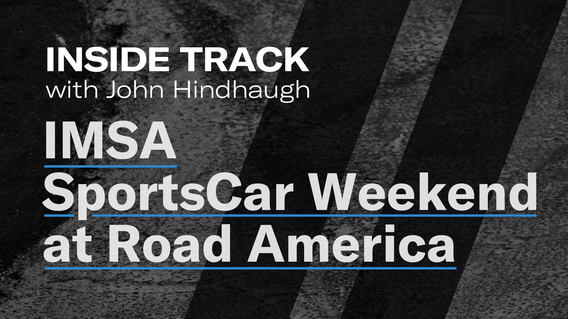 IMSA Sportscar Weekend at Road America Inside Track logo