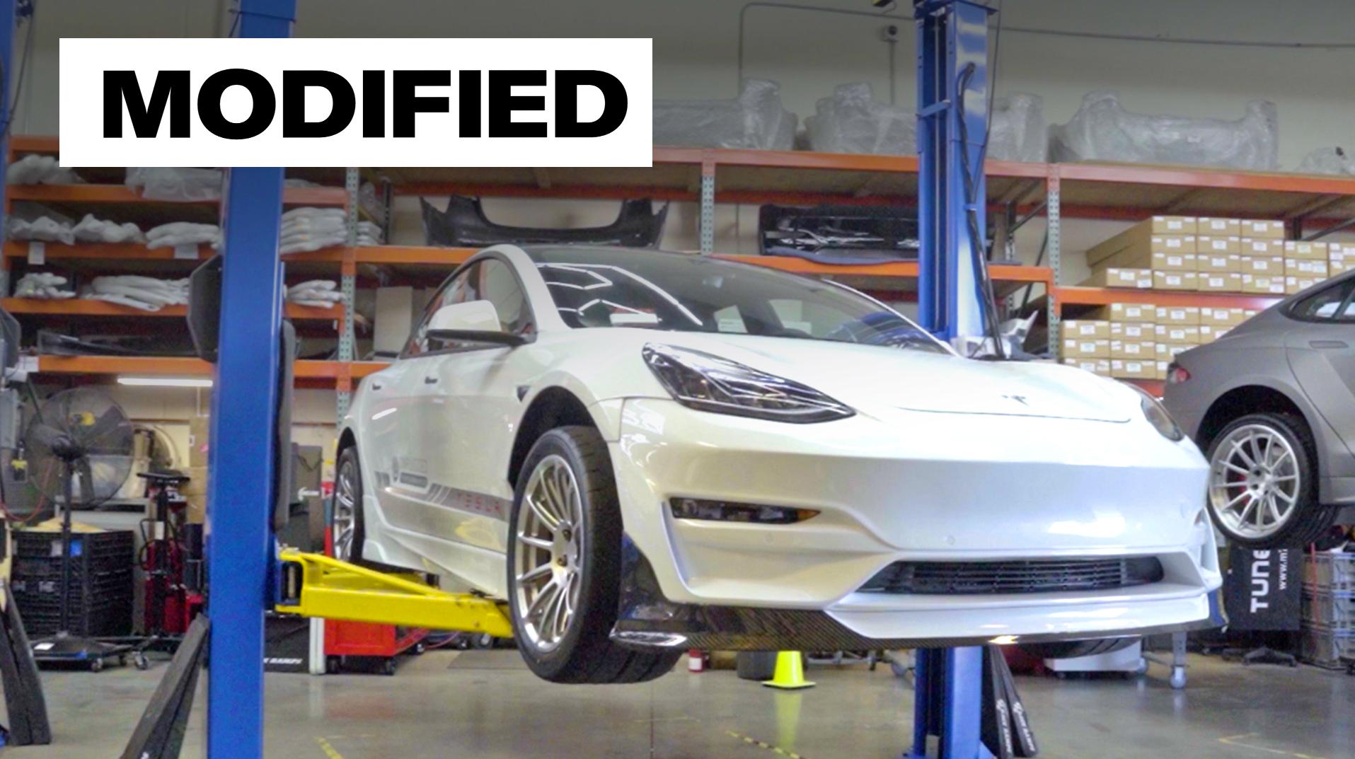Modified episode 3 Tesla