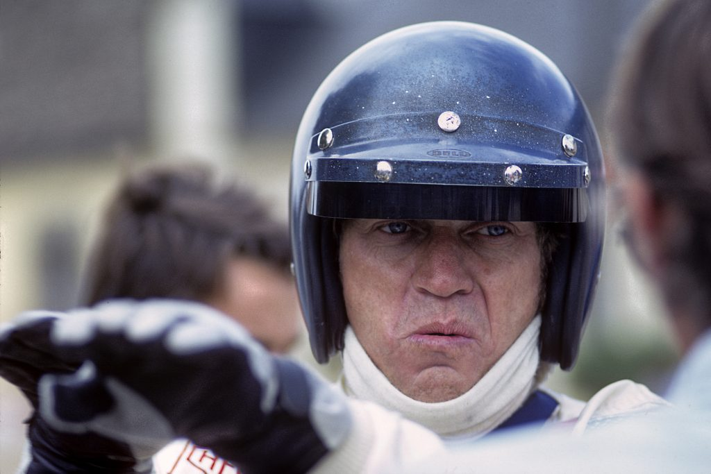 Steve McQueen 24 Hours Of Le Mans Filming