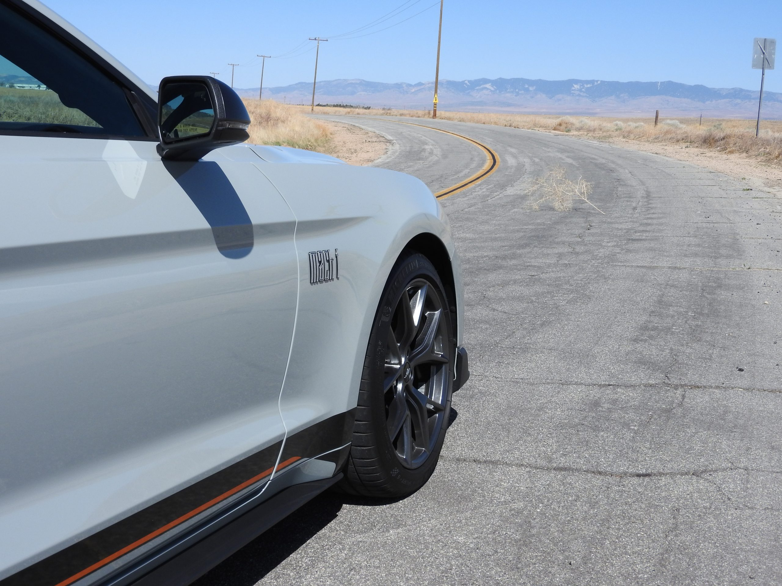 New Mustang Mach 1 front quarter side