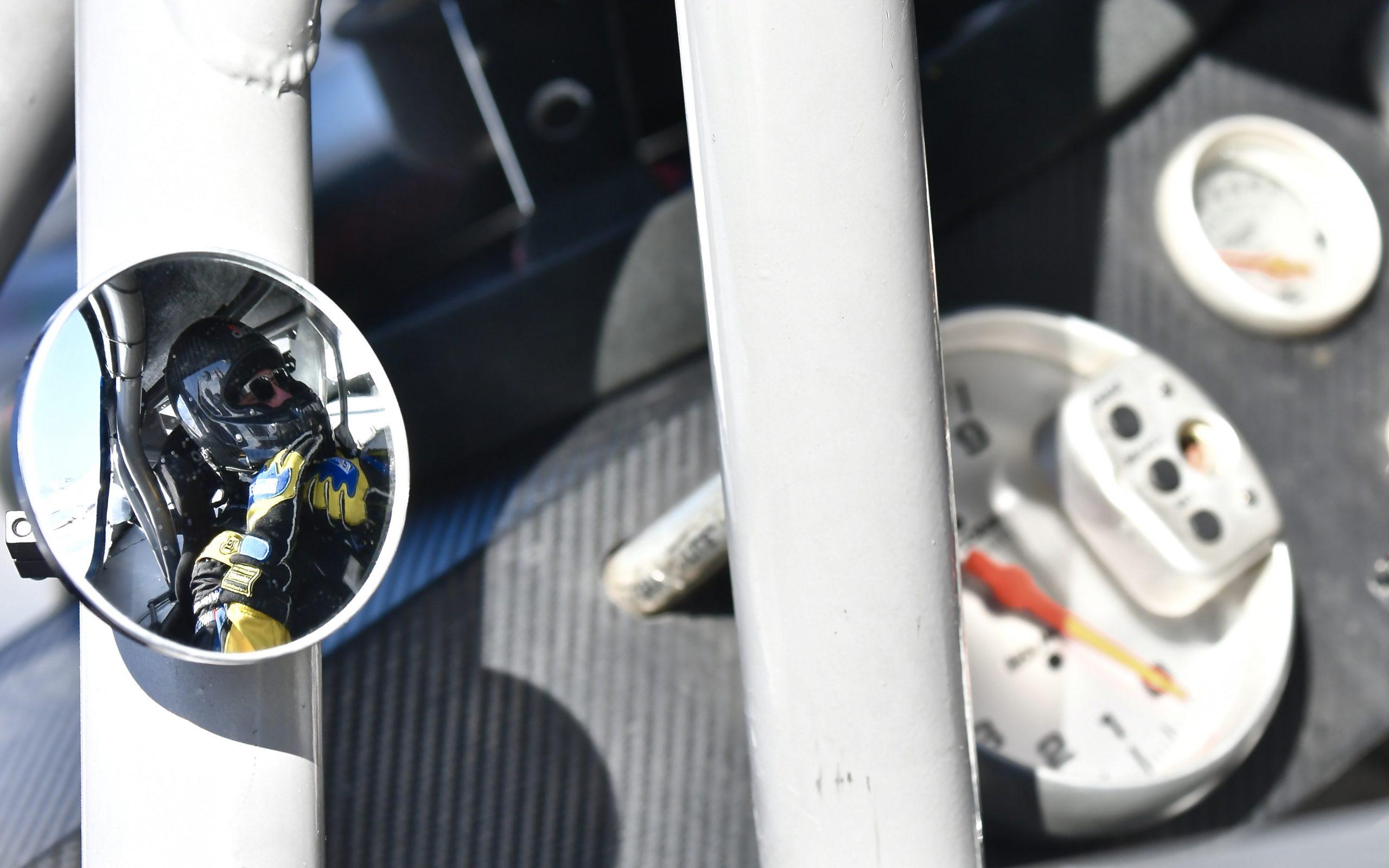 NASCAR on ice mirror