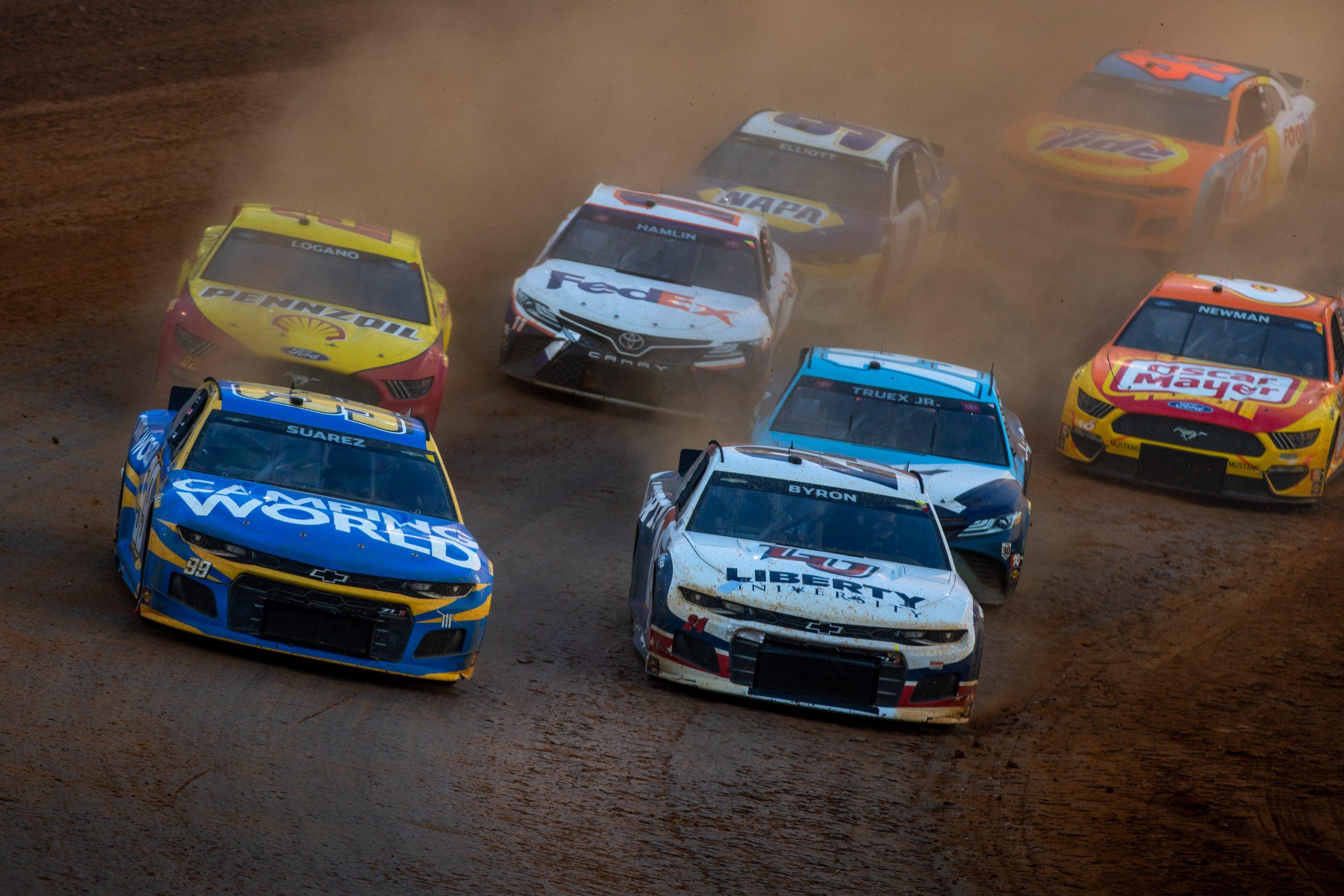 NASCAR Bristol dirt