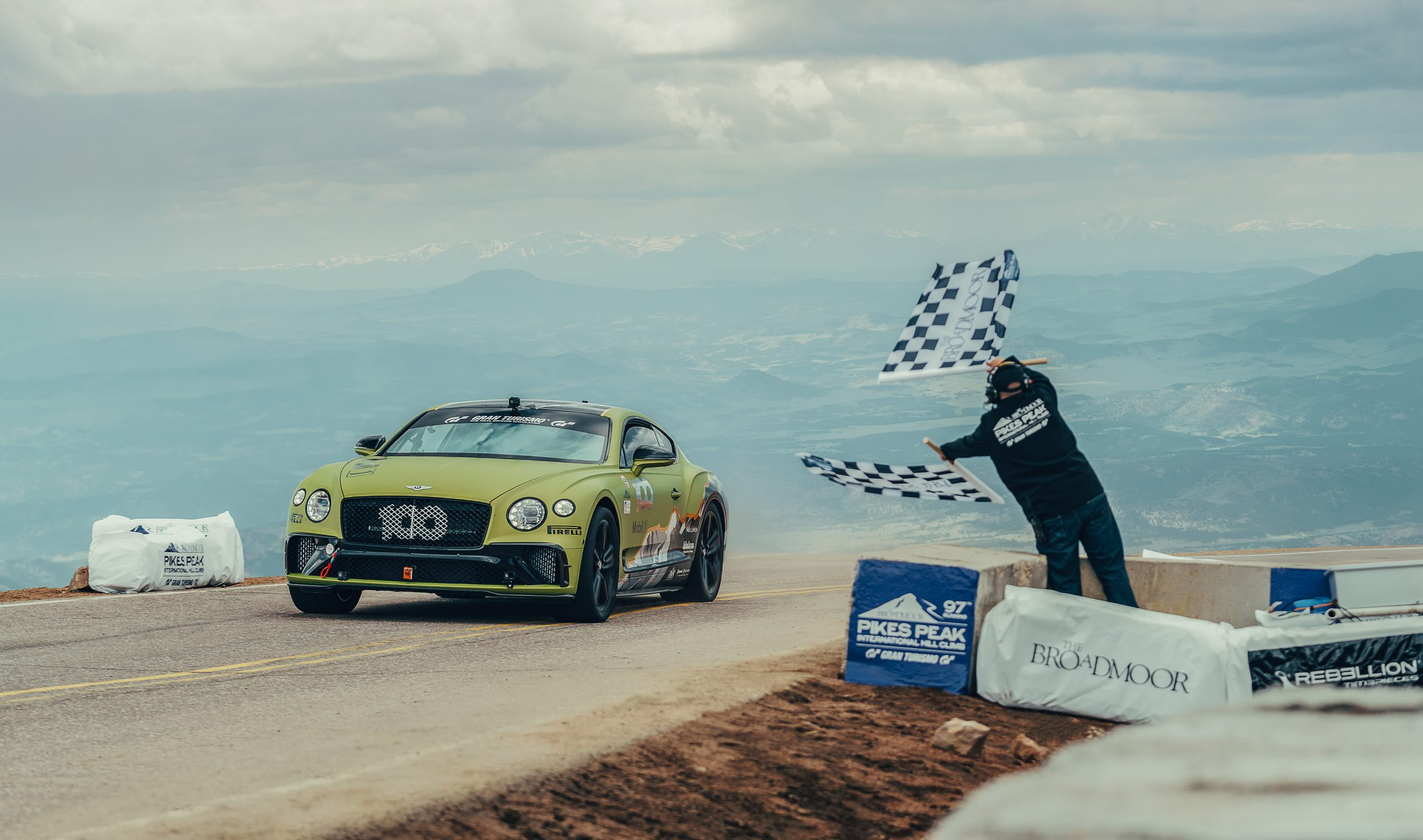 Bentley is bidding for a Pikes Peak triple crown