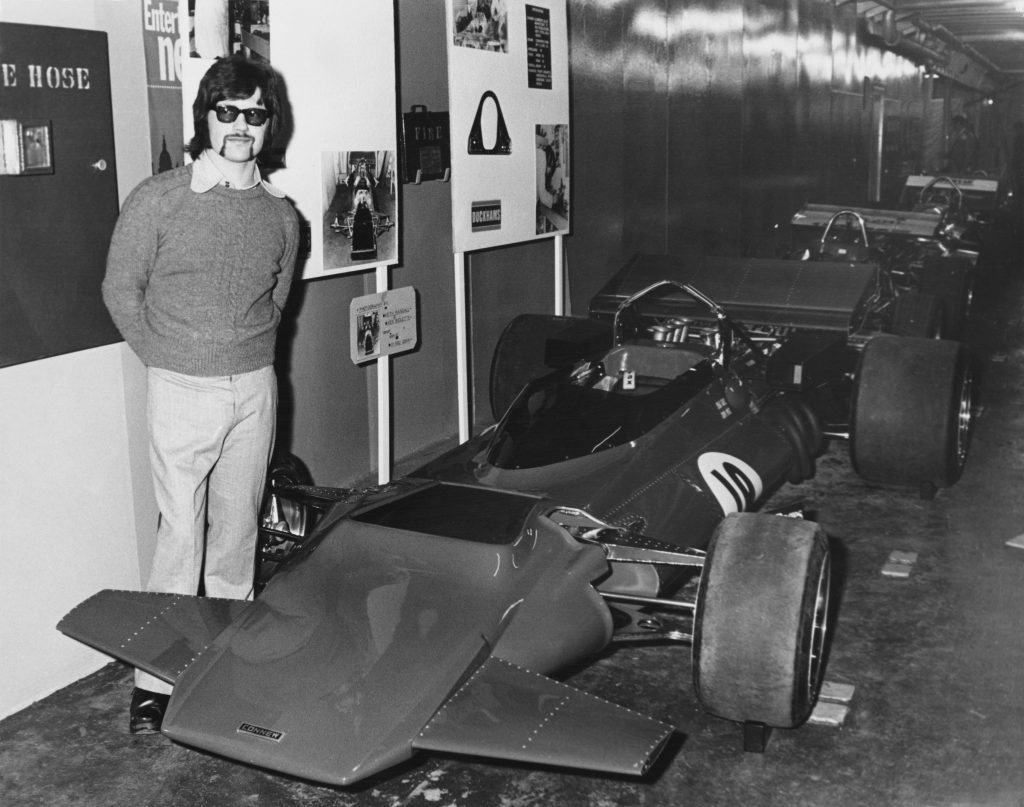 Peter Connew F1 car designer