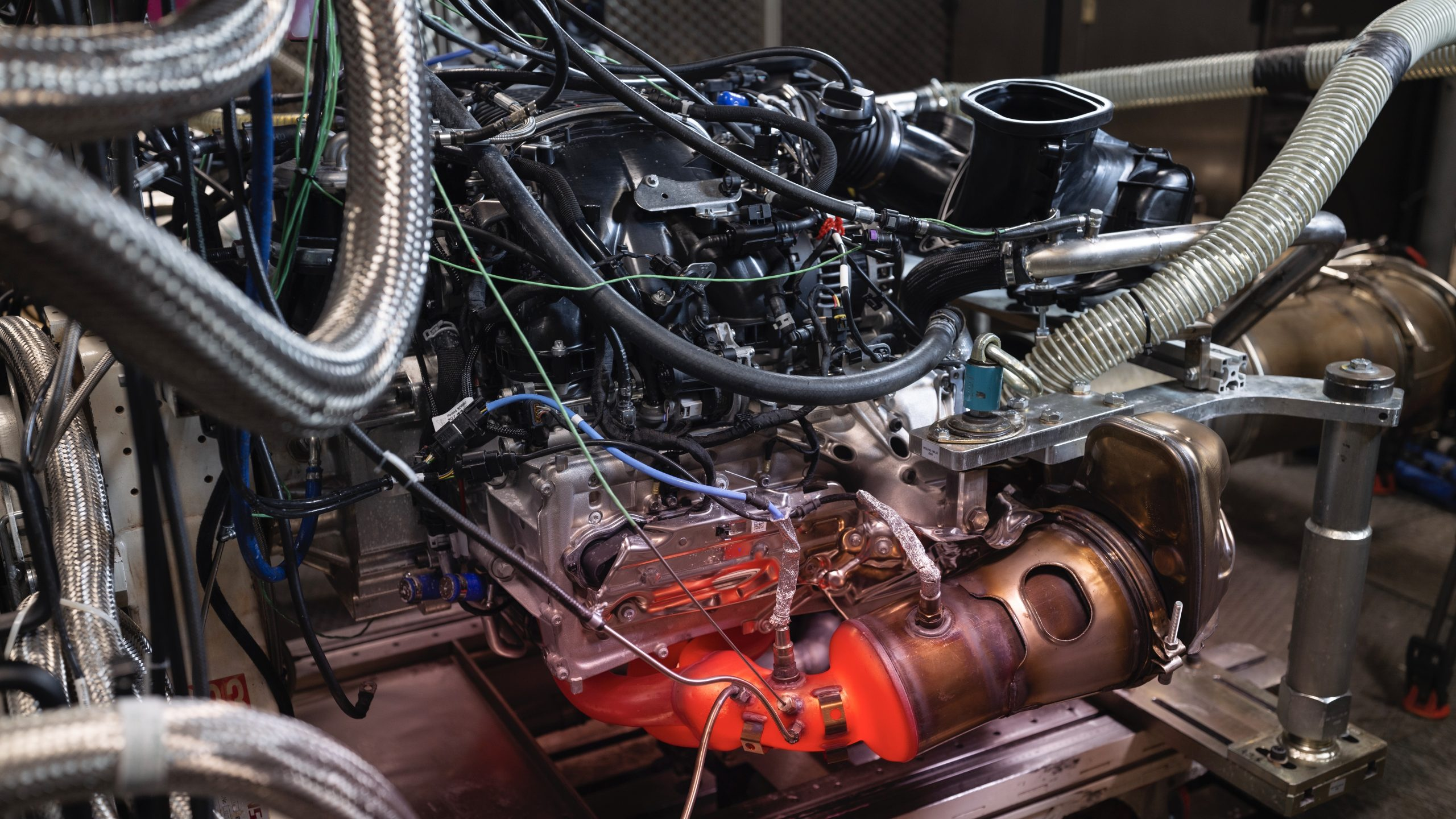 Porsche 911 GT3 2022 engine test