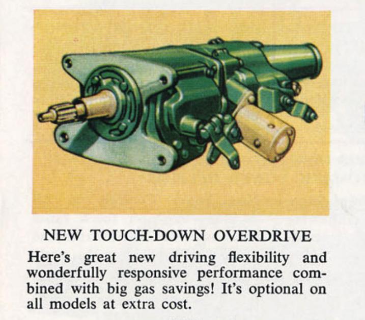 1955 Chevrolet Overdrive
