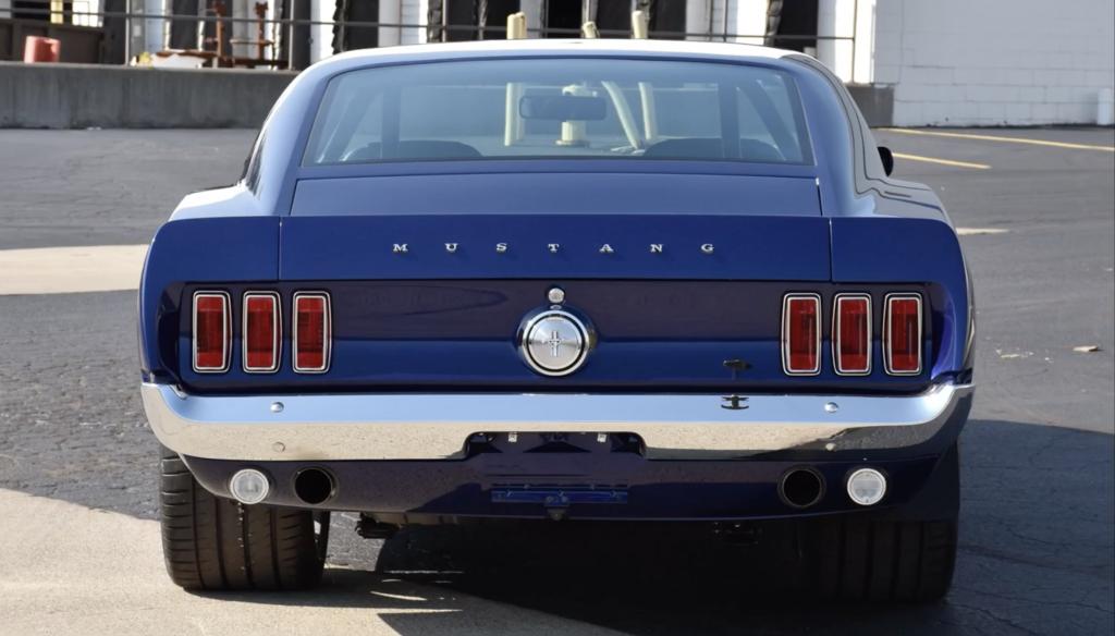 1969 Mustang fastback track restomod