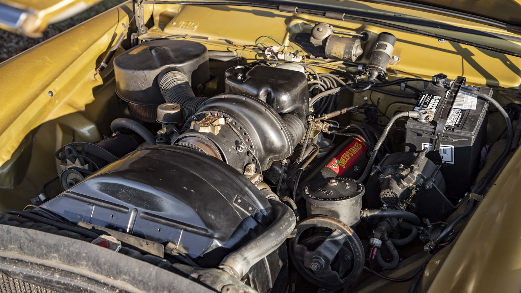 Studebaker 289 supercharged