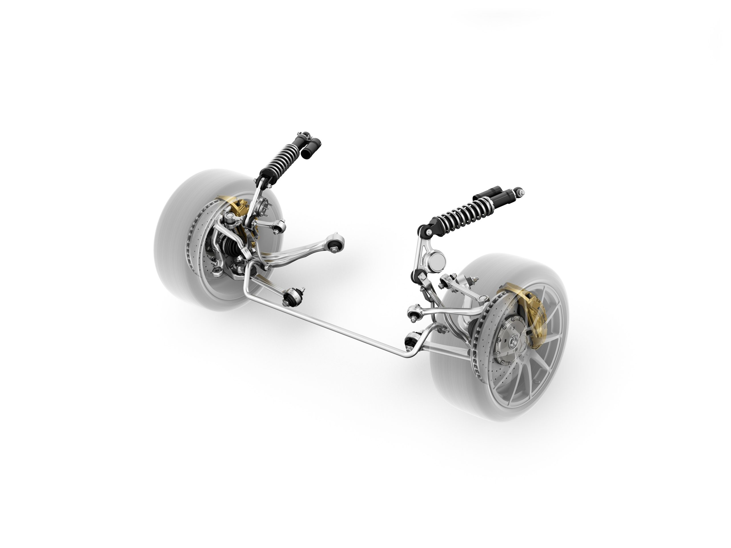Mercedes-Benz SLS AMG E-CELL front suspension