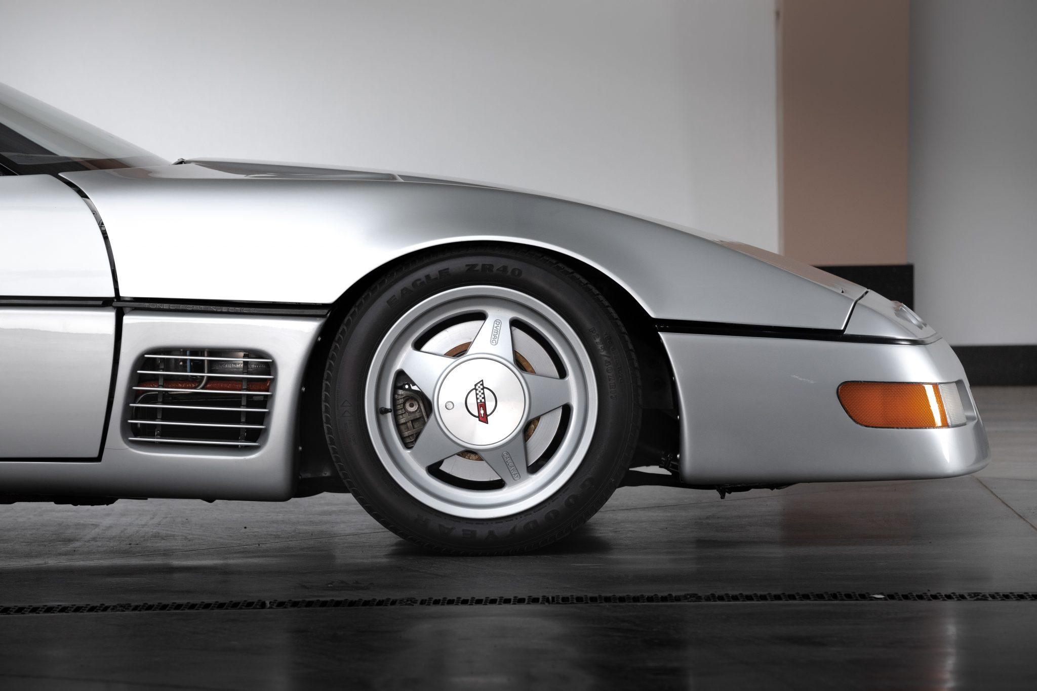 1988 Chevrolet Corvette Callaway SledgeHammer BaT front profile