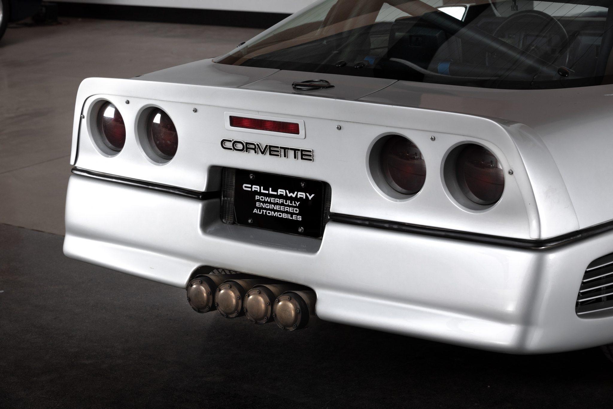 1988 Chevrolet Corvette Callaway SledgeHammer BaT rear