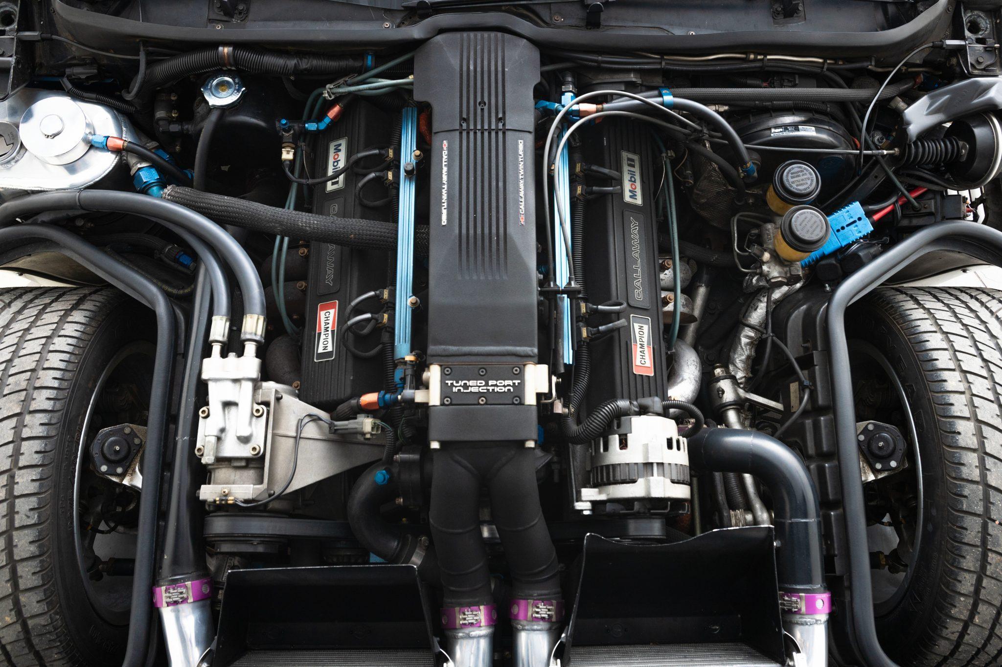 1988 Chevrolet Corvette Callaway SledgeHammer BaT engine