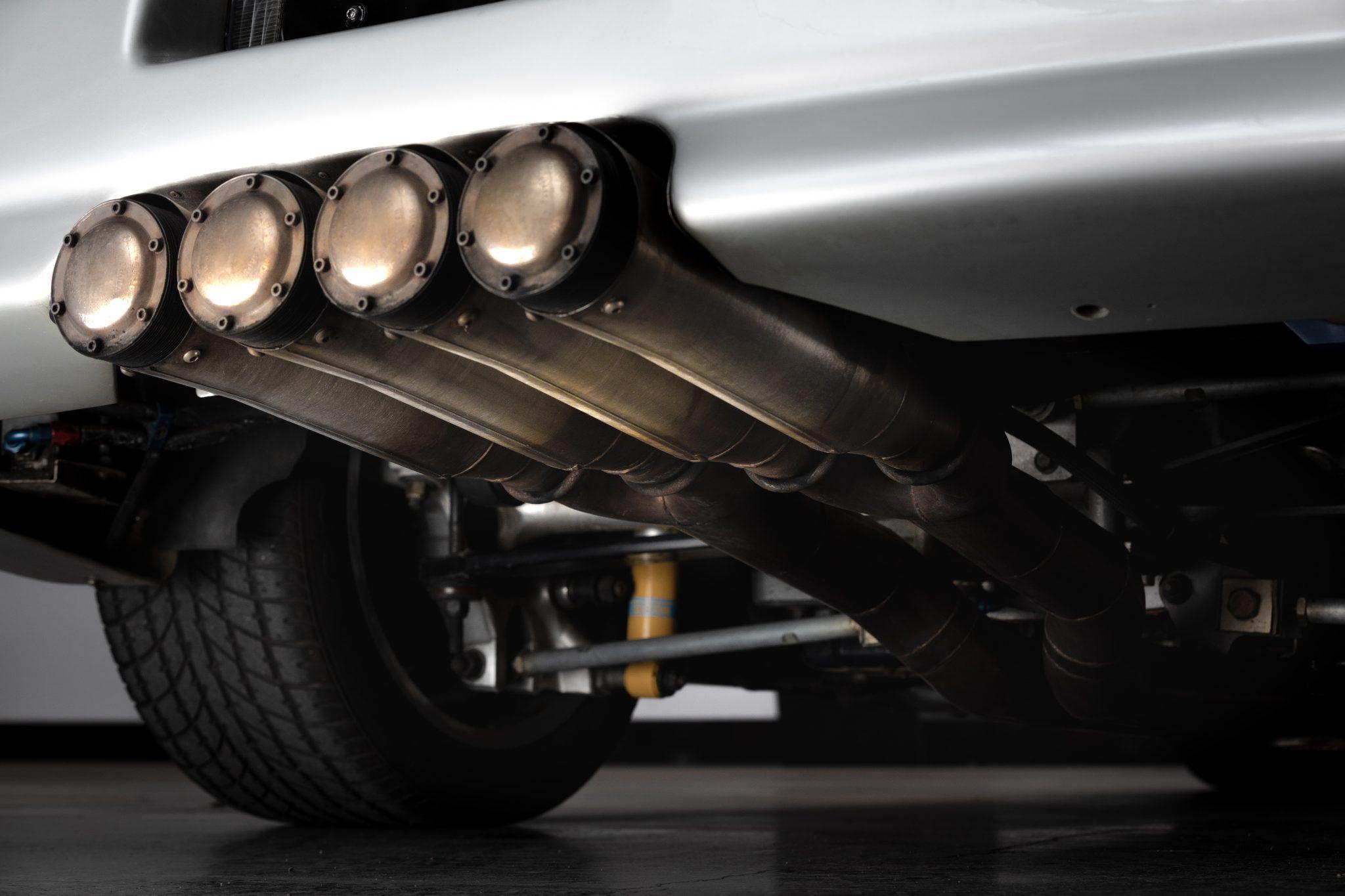 1988 Chevrolet Corvette Callaway SledgeHammer BaT exhaust diffuser quad
