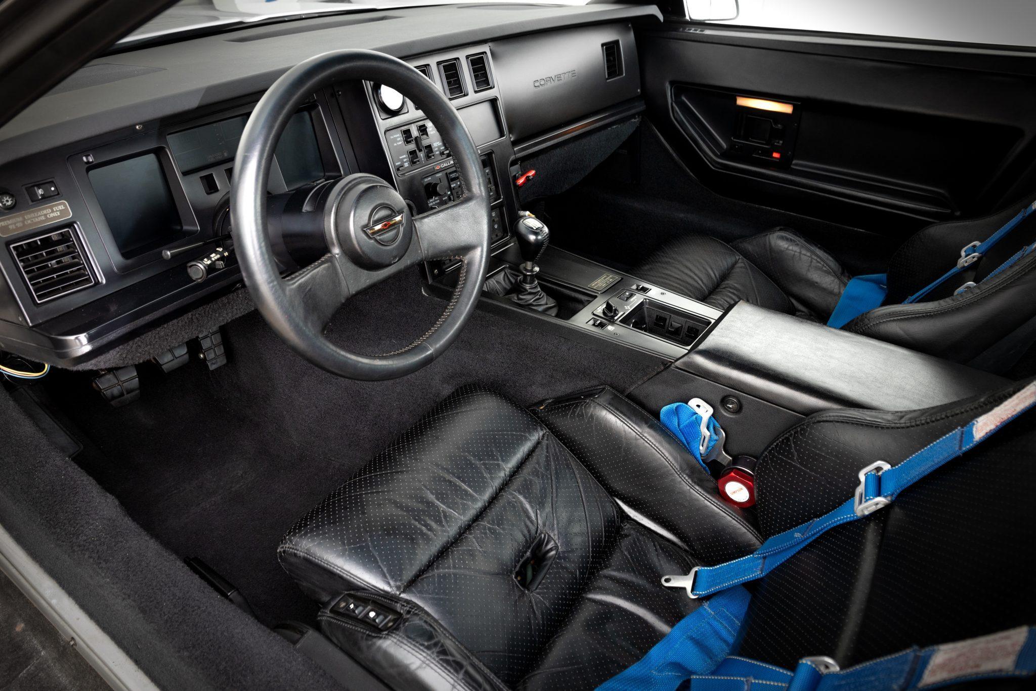 1988 Chevrolet Corvette Callaway SledgeHammer BaT interior