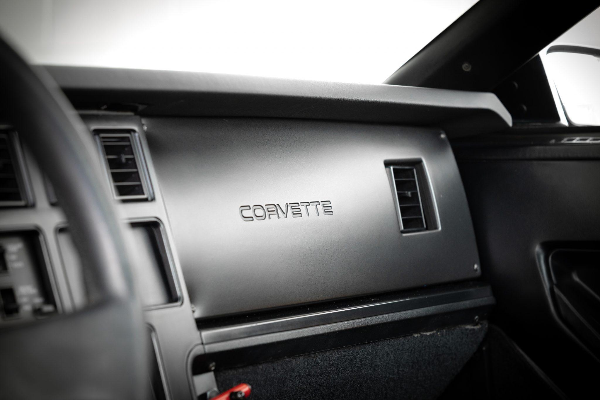 1988 Chevrolet Corvette Callaway SledgeHammer BaT dash interior