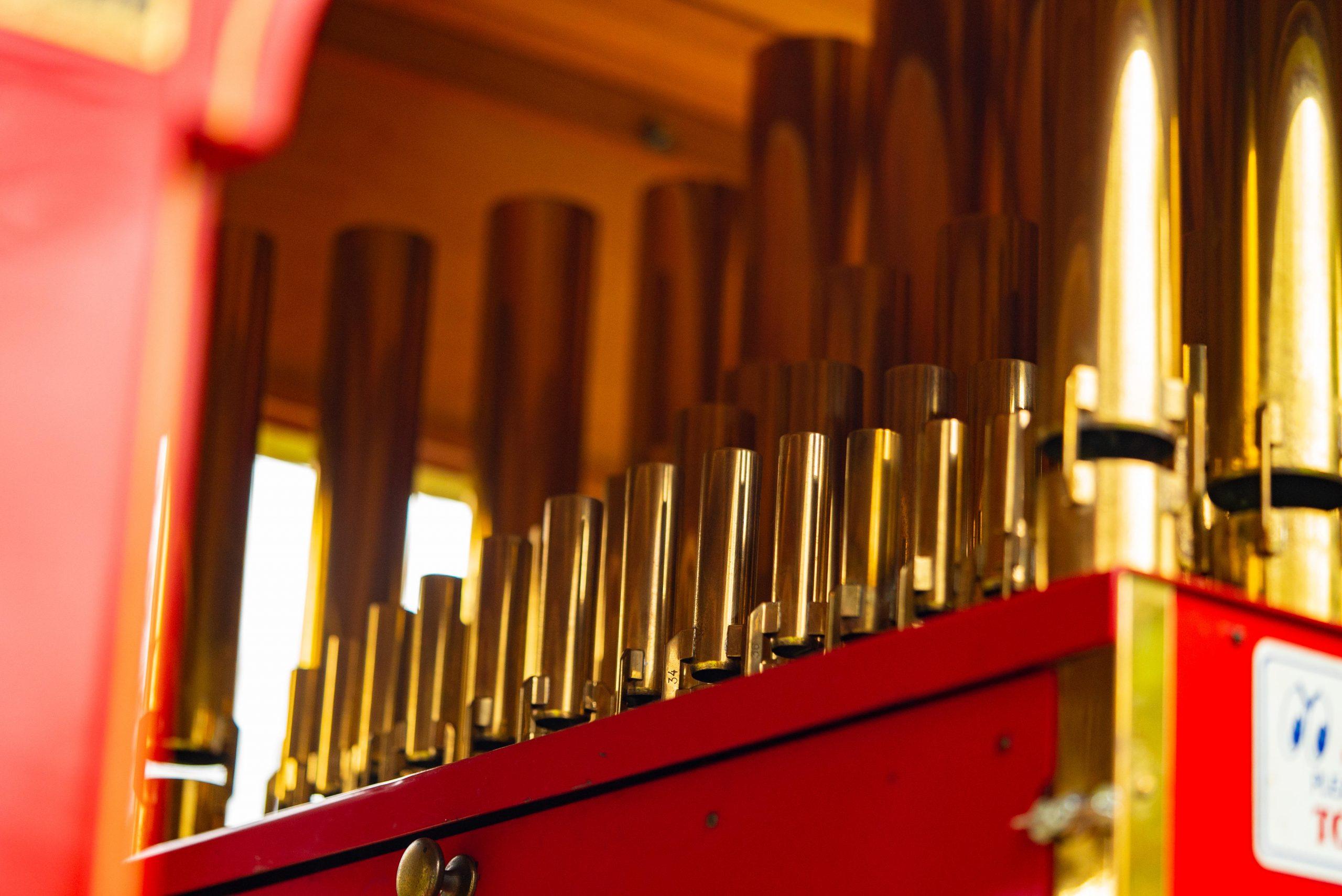 Ford Model T Organ Car pipes