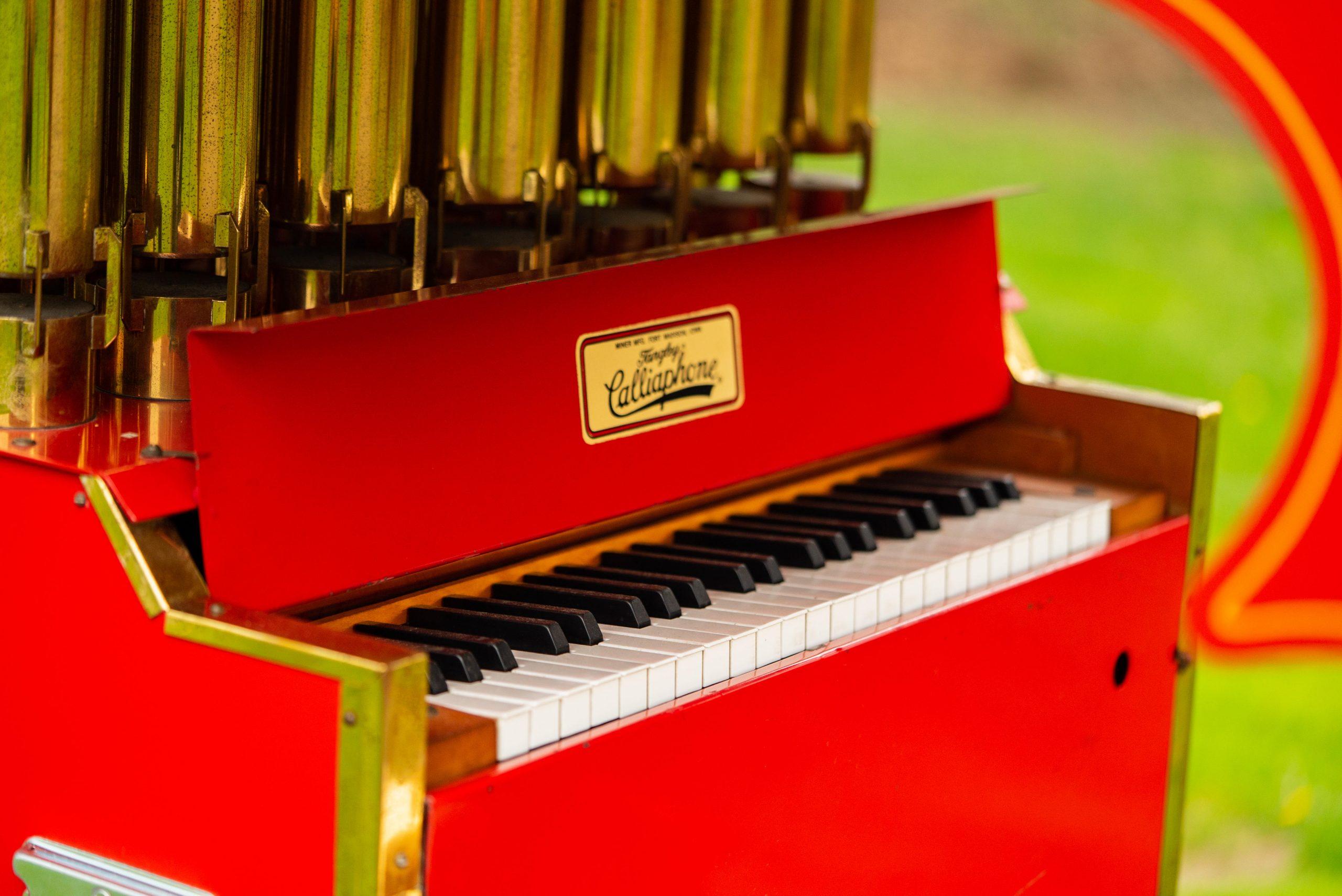 Ford Model T Organ Car keyboard