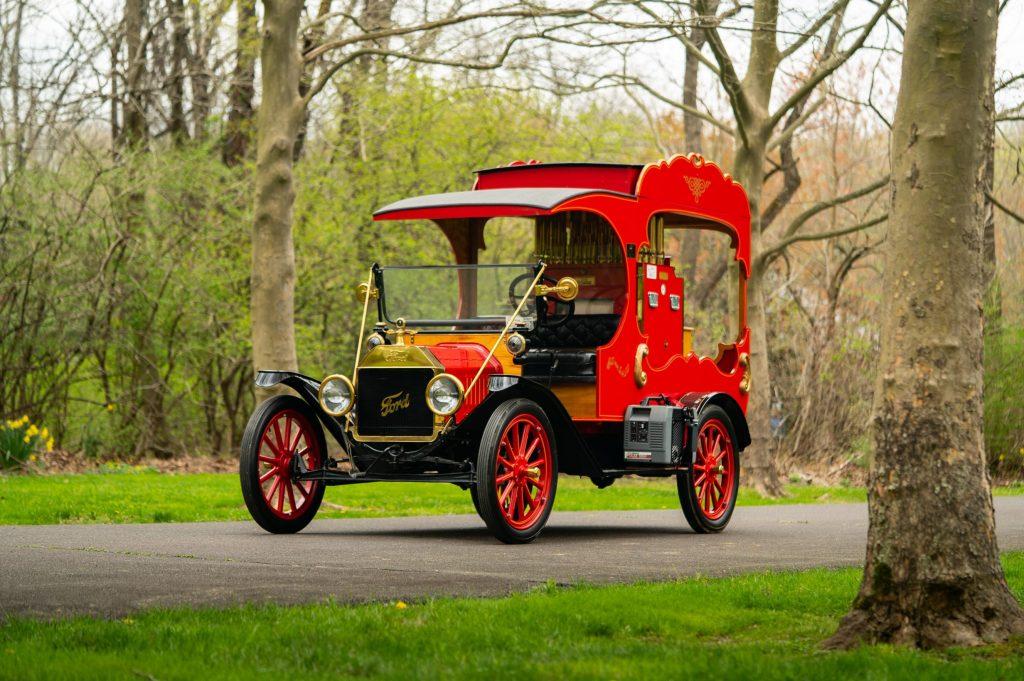 Ford Model T Organ Car front three-quarter