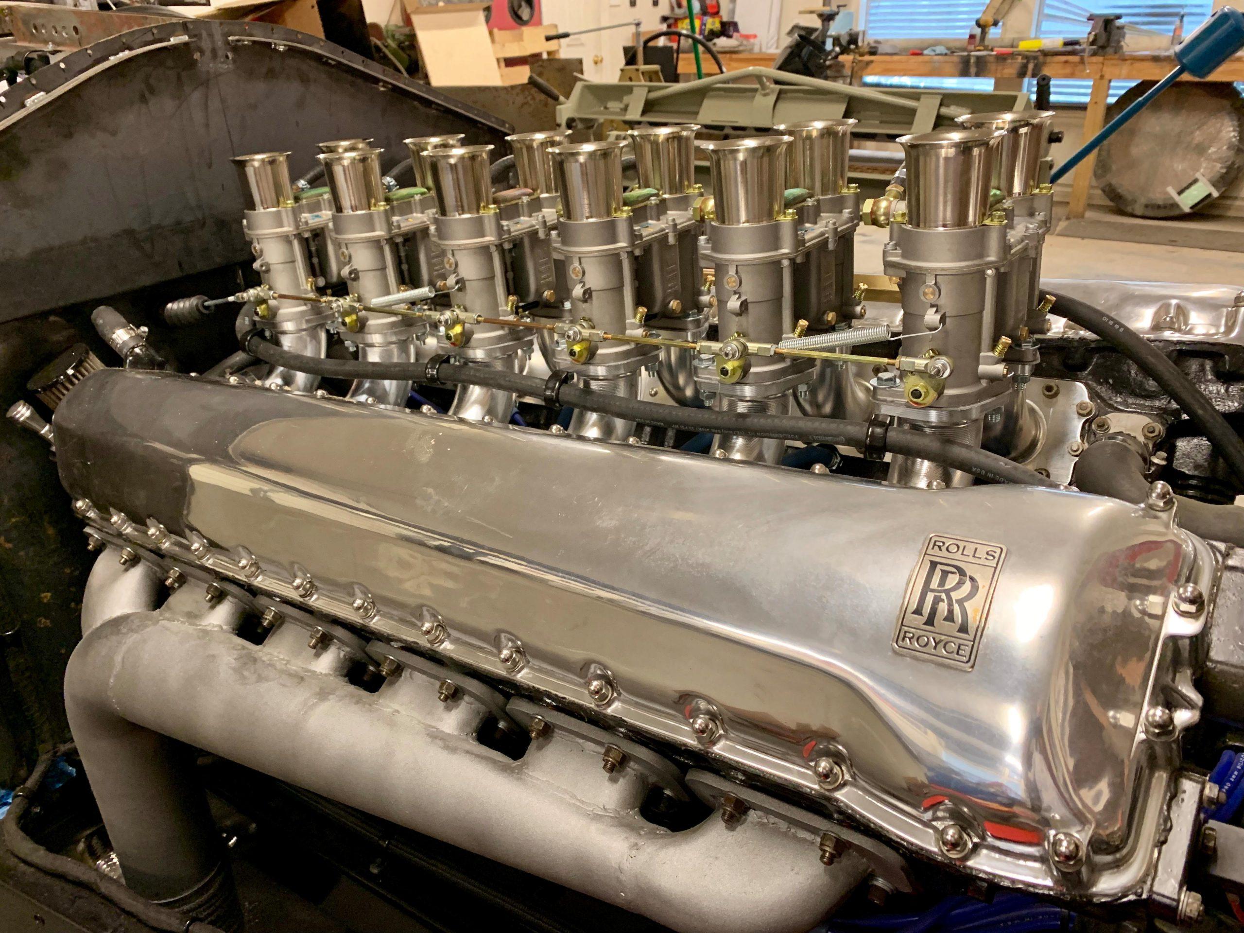 EX Series Phantom Recreation engine