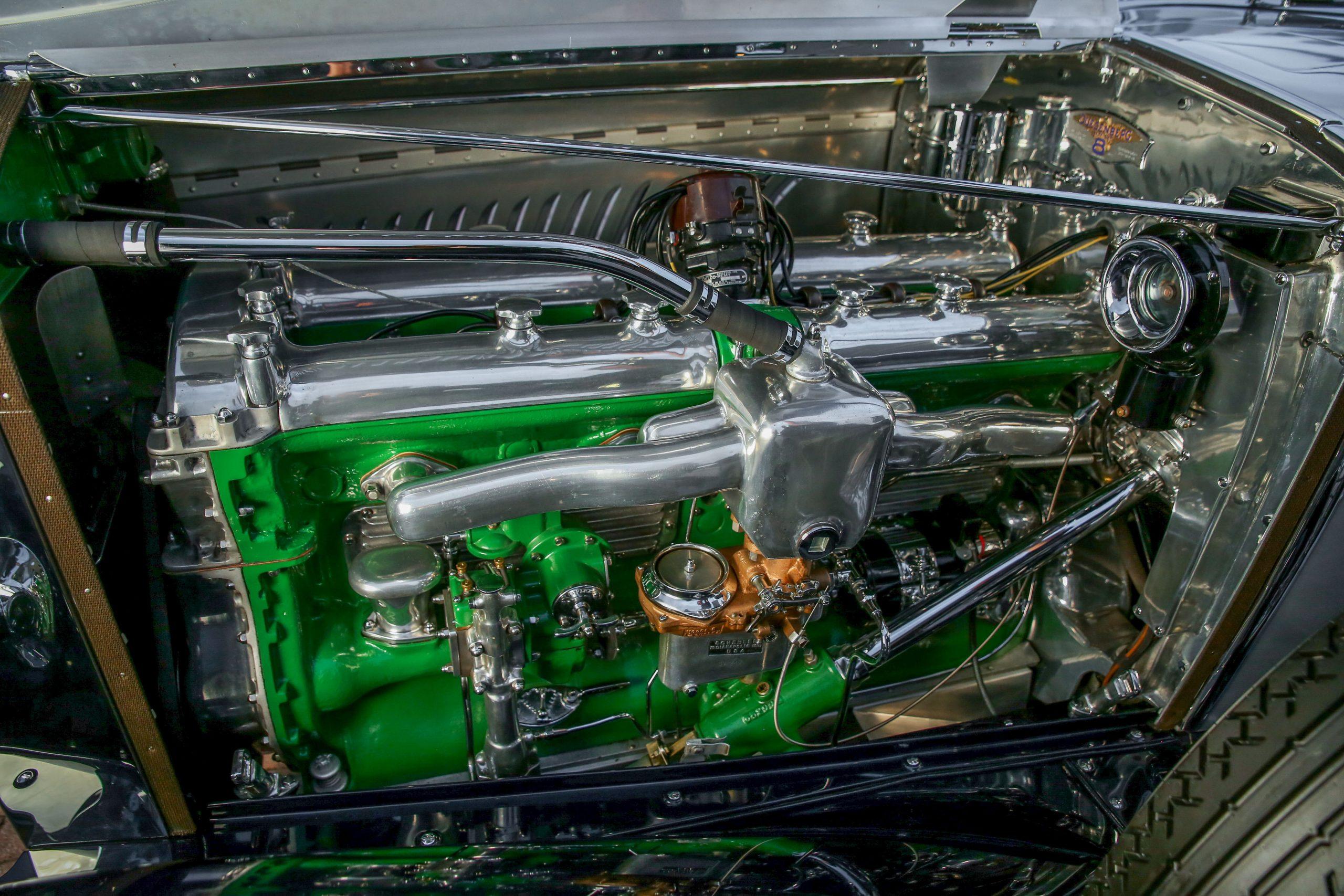 1929 Duesenberg Model J engine