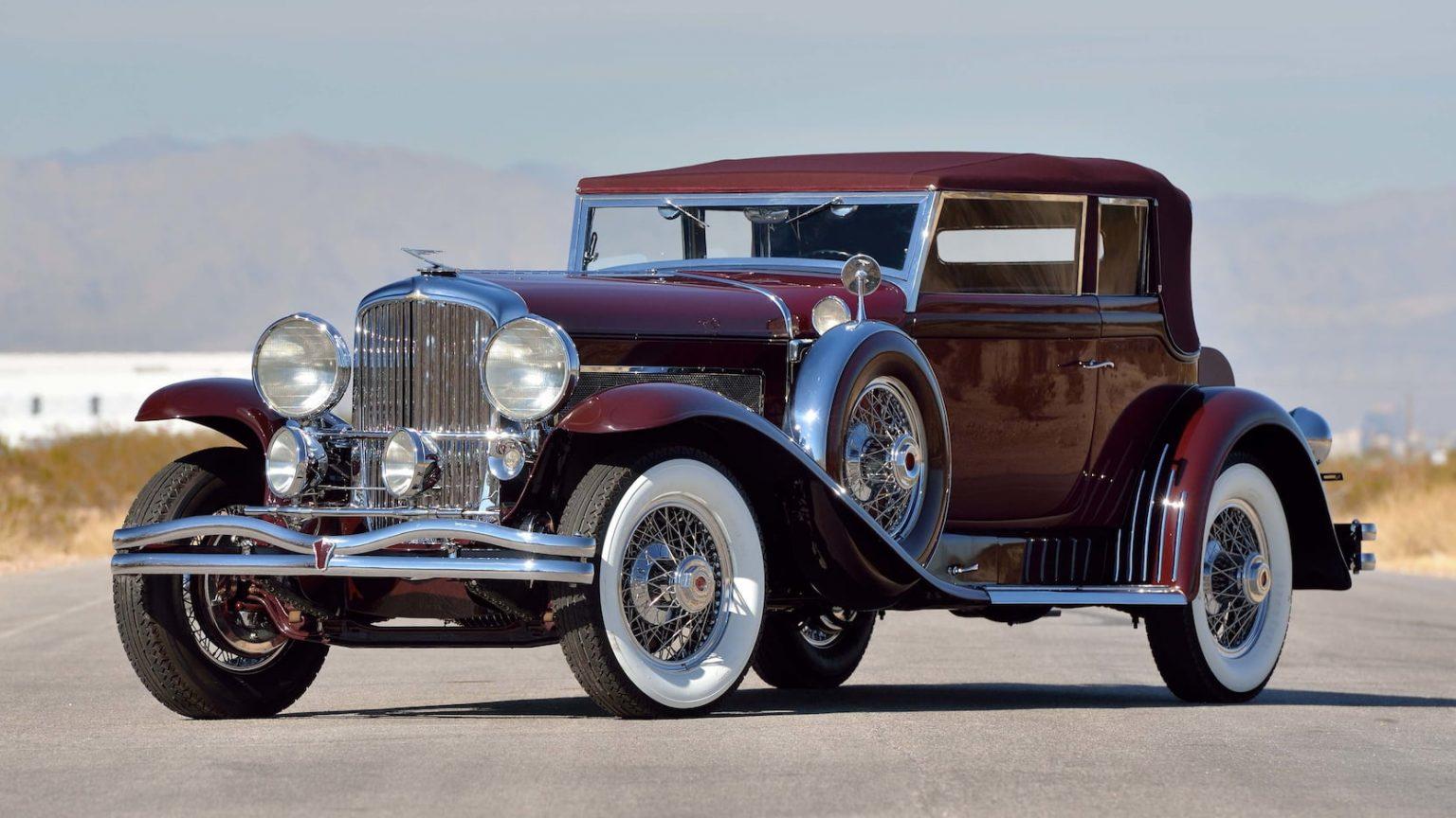 Voyez comme c'est fou les prix... 1930-Duesenberg-Model-SJ-Rollston-Convertible-Victoria-1-1536x864