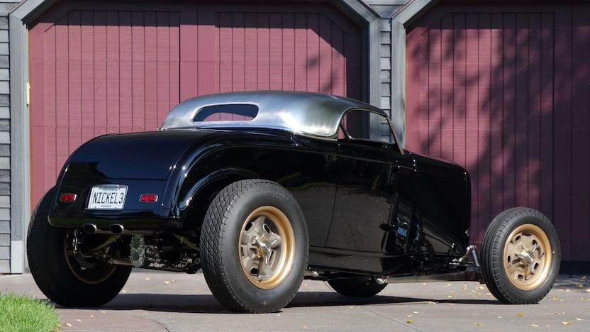 Triple Nickel 1932 Ford Roadster rear
