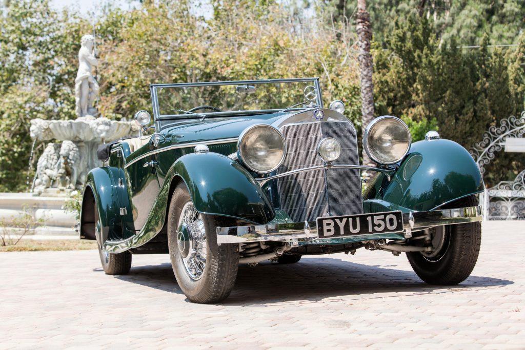 1934 Mercedes-Benz 500K front three-quarter