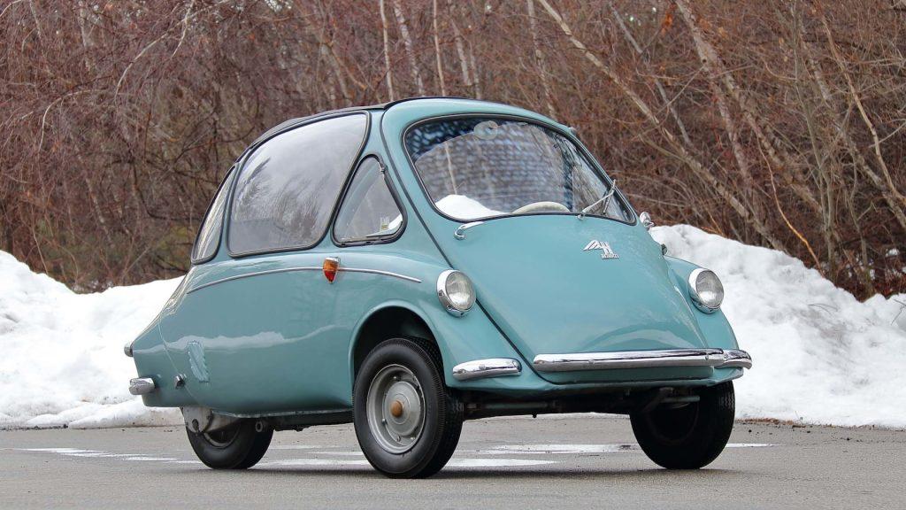 Heinkel Kabinenroller front three-quarter