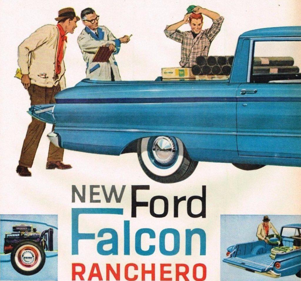 1960 Ford Falcon Ranchero ad