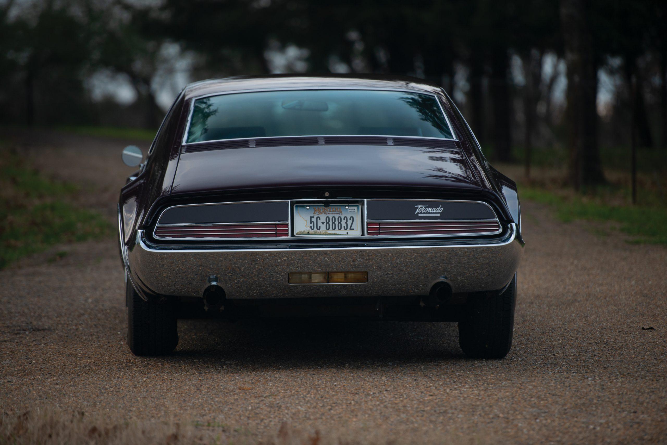 Olds Toronado rear