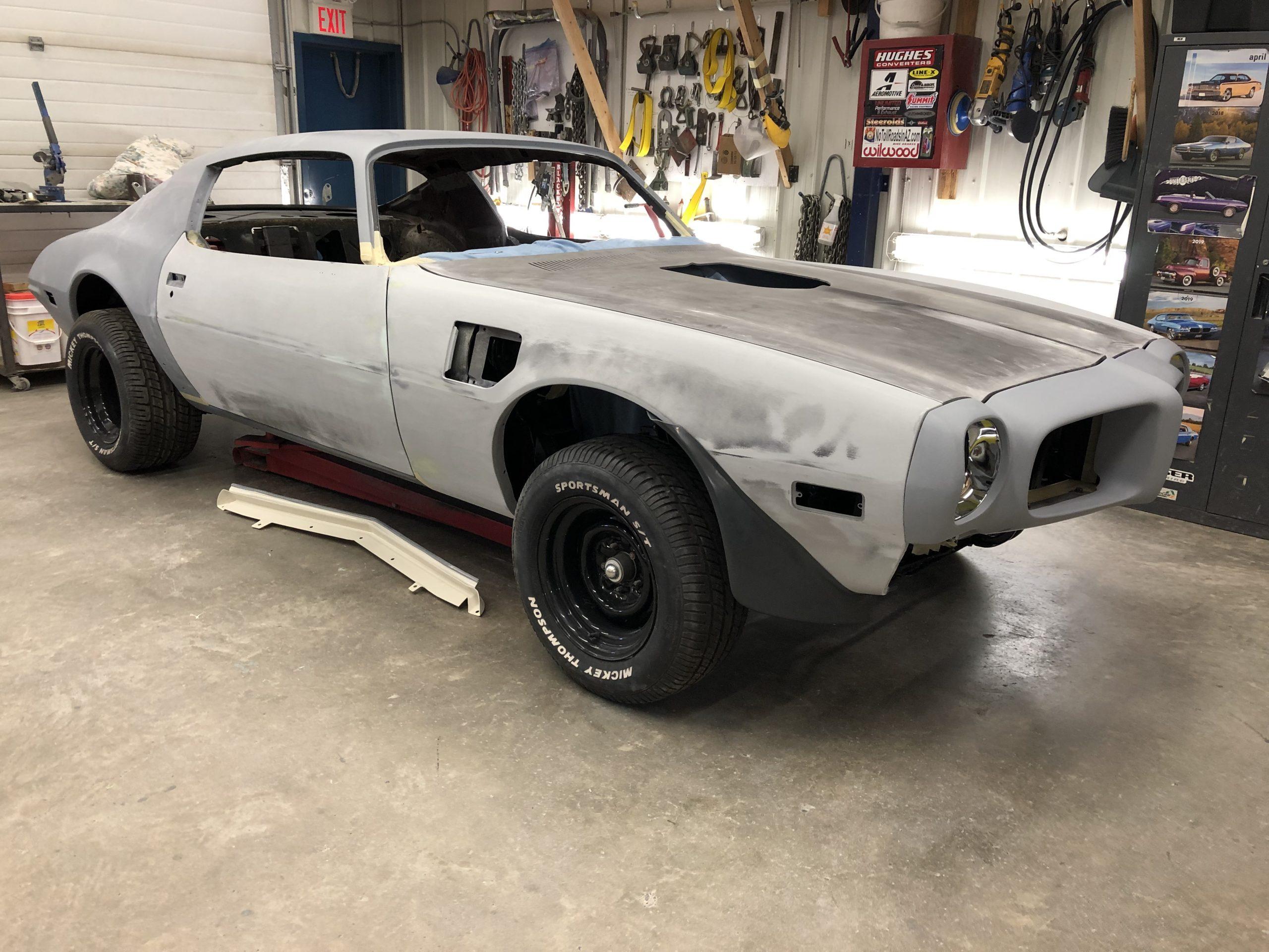 1973 Trans Am pre restoration