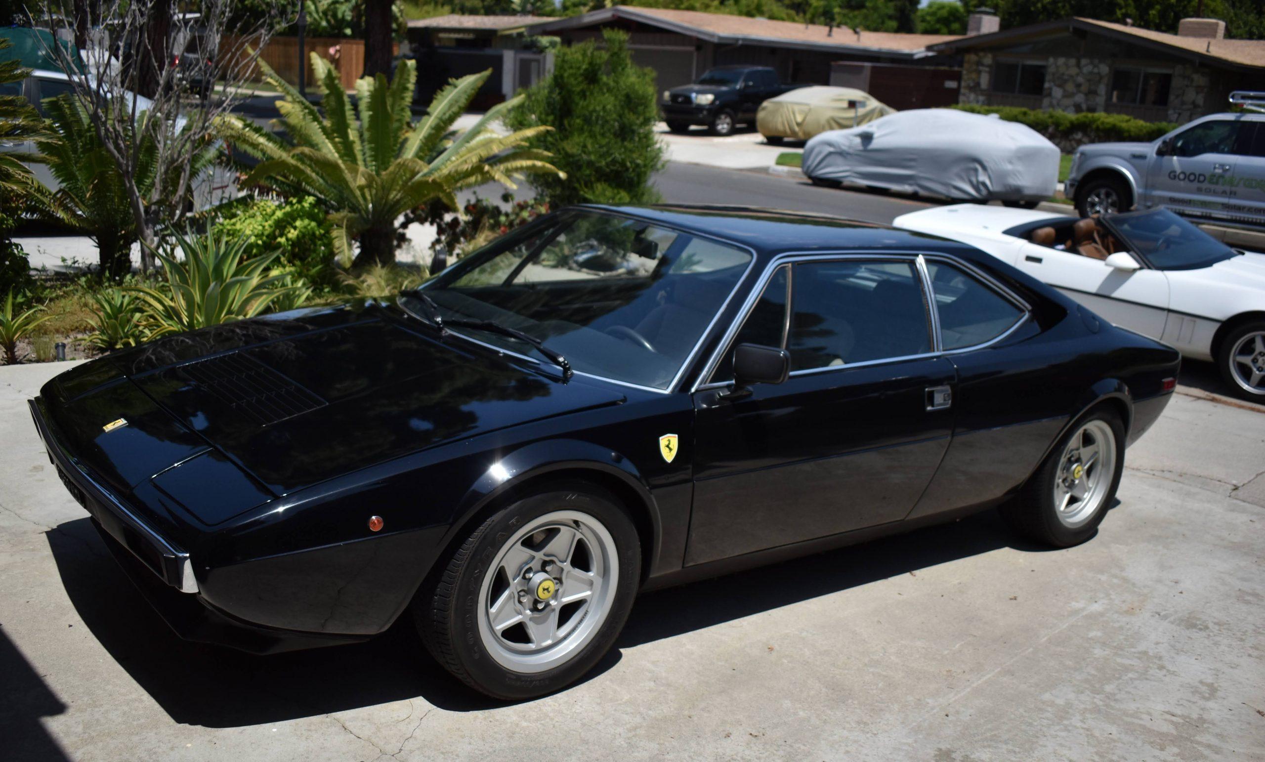 1975-Ferrari-308-GT4 front three-quarter